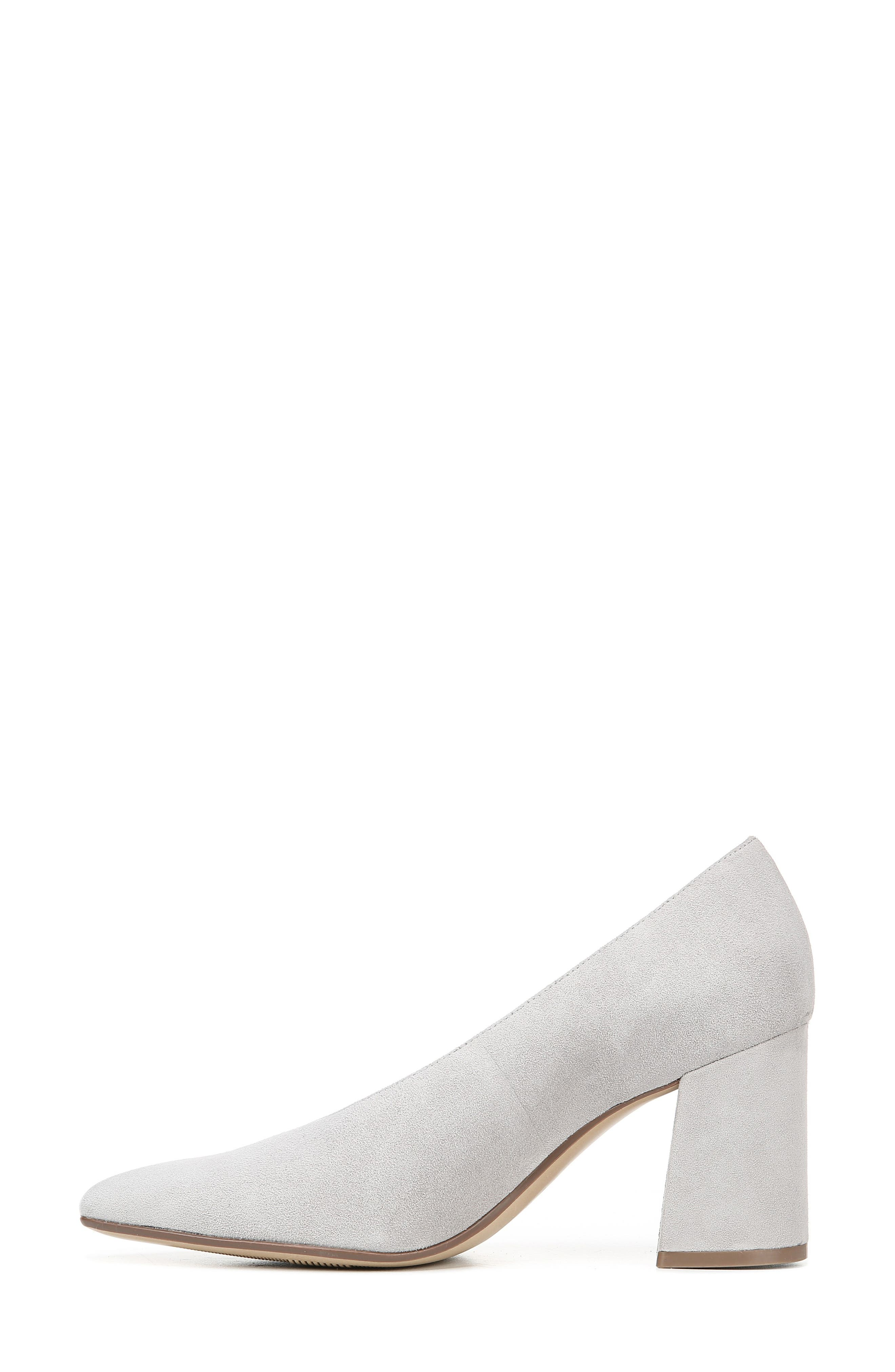 NATURALIZER, Hope Pointy Toe Pump, Alternate thumbnail 8, color, ICY GREY SUEDE
