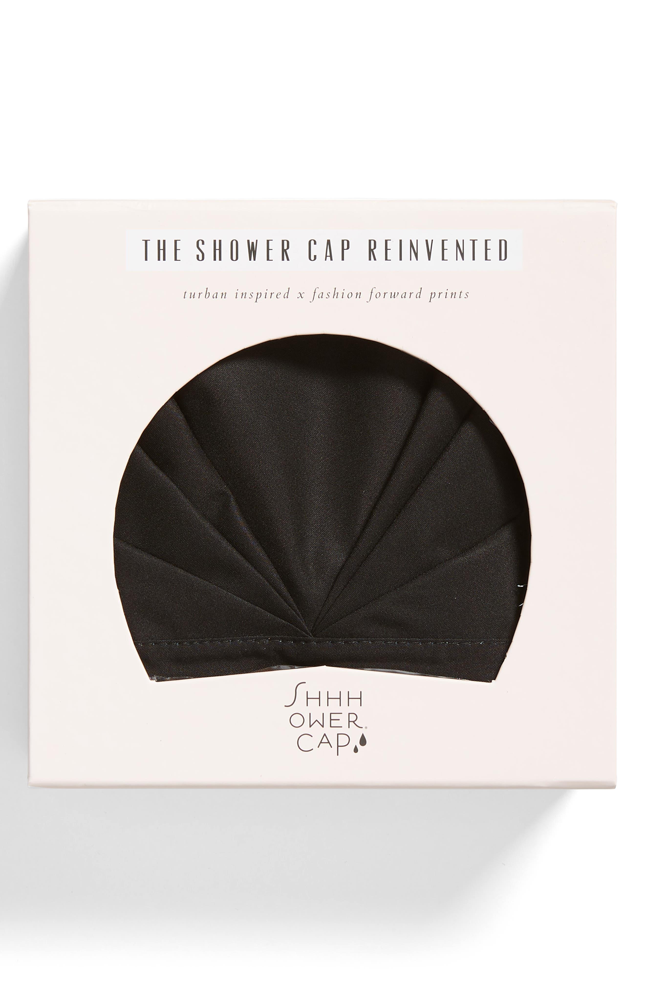 SHHHOWERCAP, The Minx Shower Cap, Main thumbnail 1, color, 001