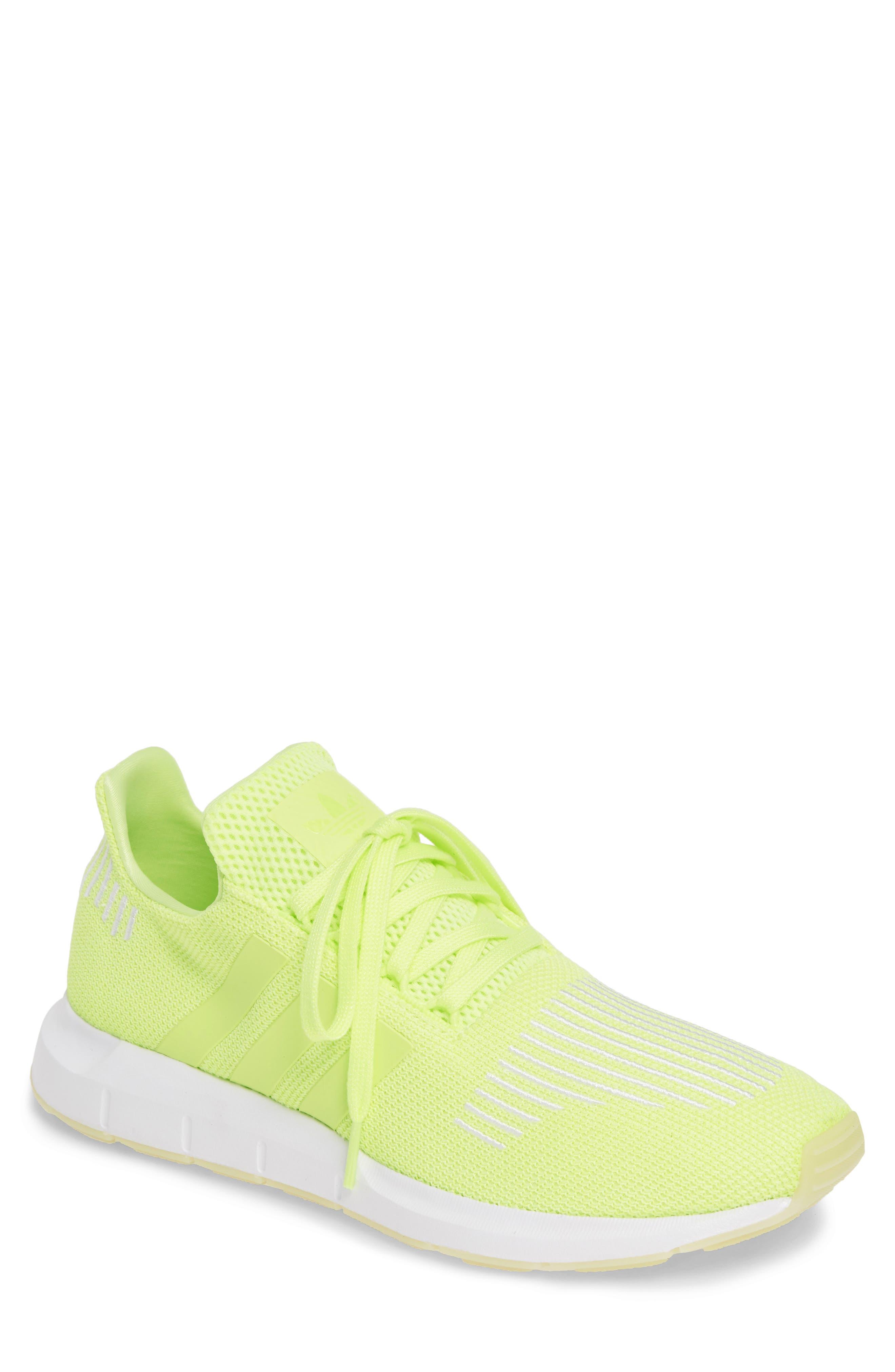 ADIDAS Swift Run Running Shoe, Main, color, YELLOW/ WHITE