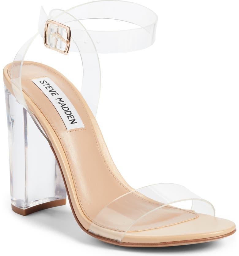 Steve Madden Camille Clear Sandal (Women)