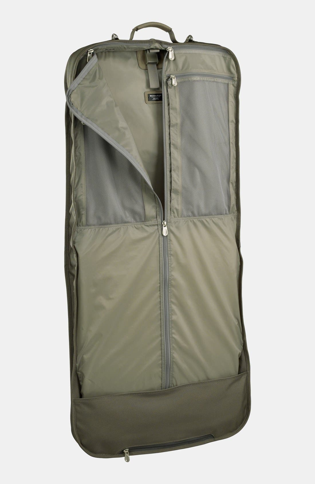 BRIGGS & RILEY, Baseline - Classic Garment Cover, Alternate thumbnail 2, color, OLIVE