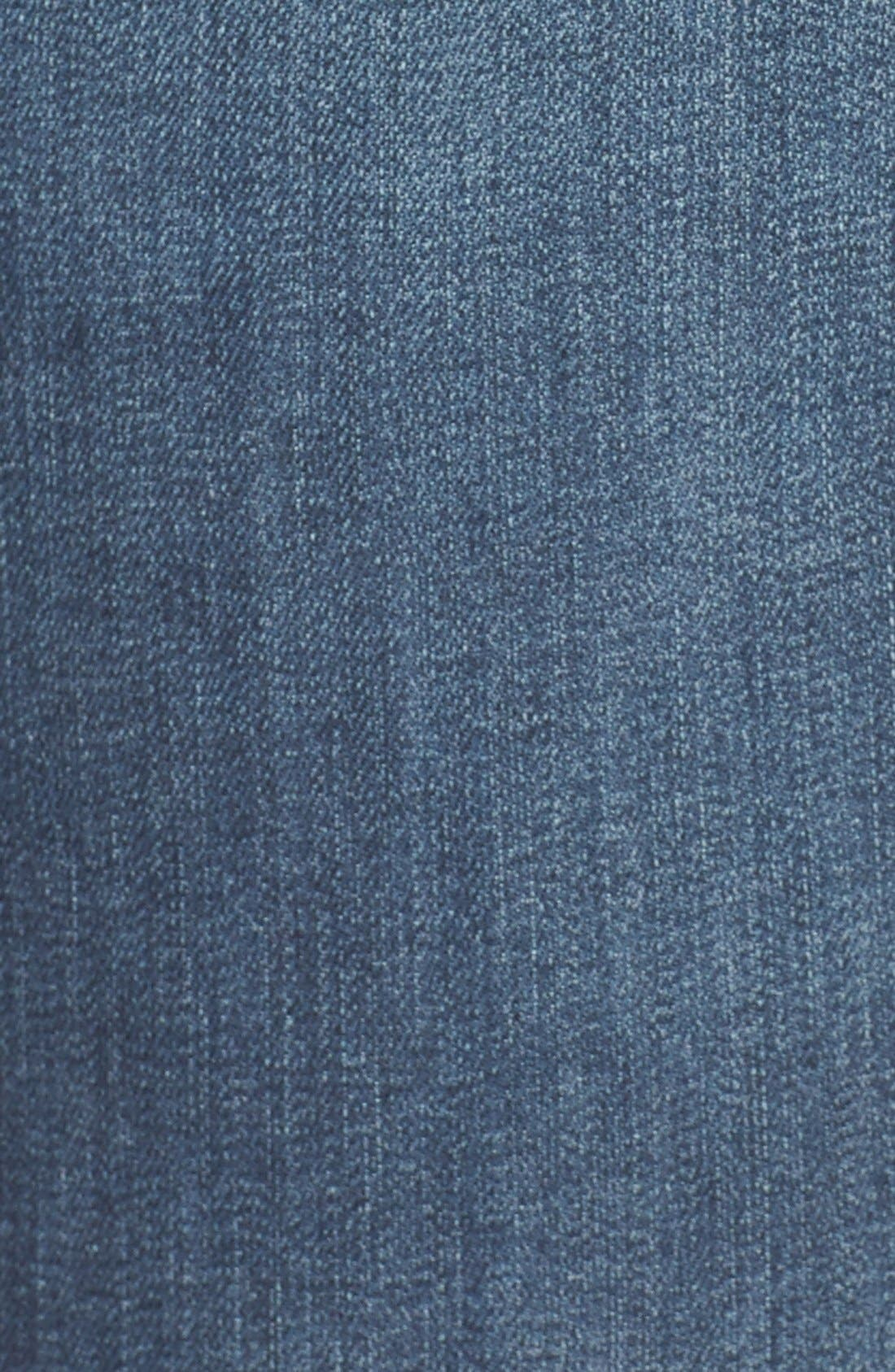CASLON<SUP>®</SUP>, Distressed Stretch Ankle Skinny Jeans, Alternate thumbnail 2, color, 401