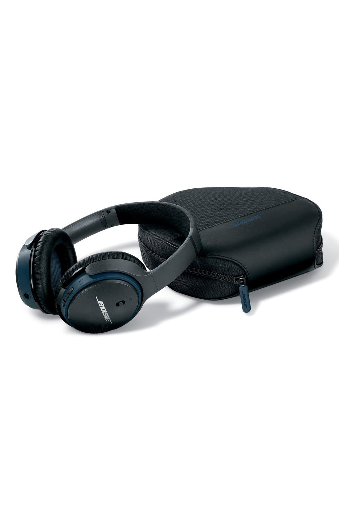 BOSE<SUP>®</SUP>, SoundLink<sup>®</sup> Around-Ear Bluetooth<sup>®</sup> Headphones, Alternate thumbnail 5, color, BLACK