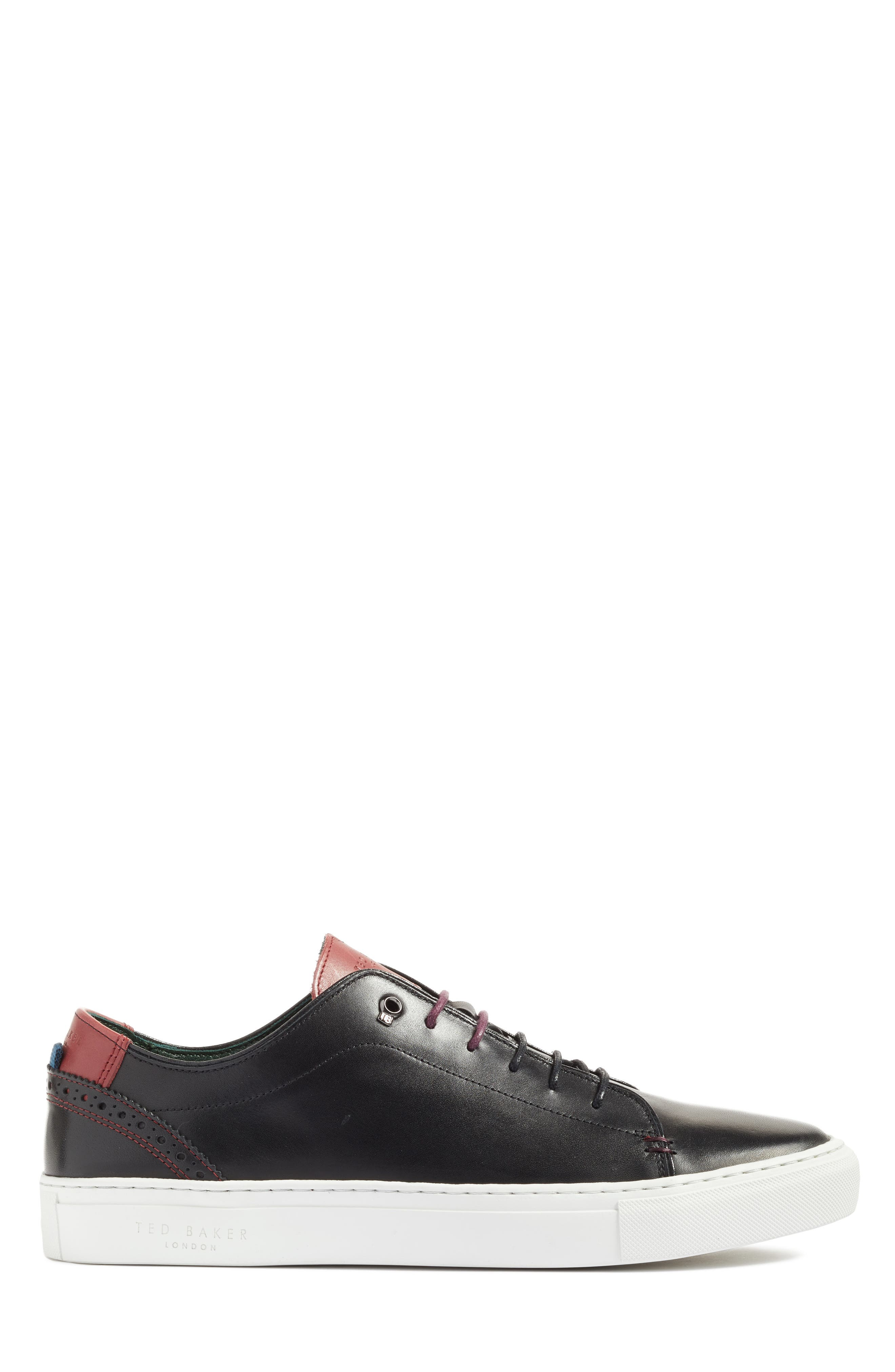 TED BAKER LONDON, 'Kiing Classic' Sneaker, Main thumbnail 1, color, 001