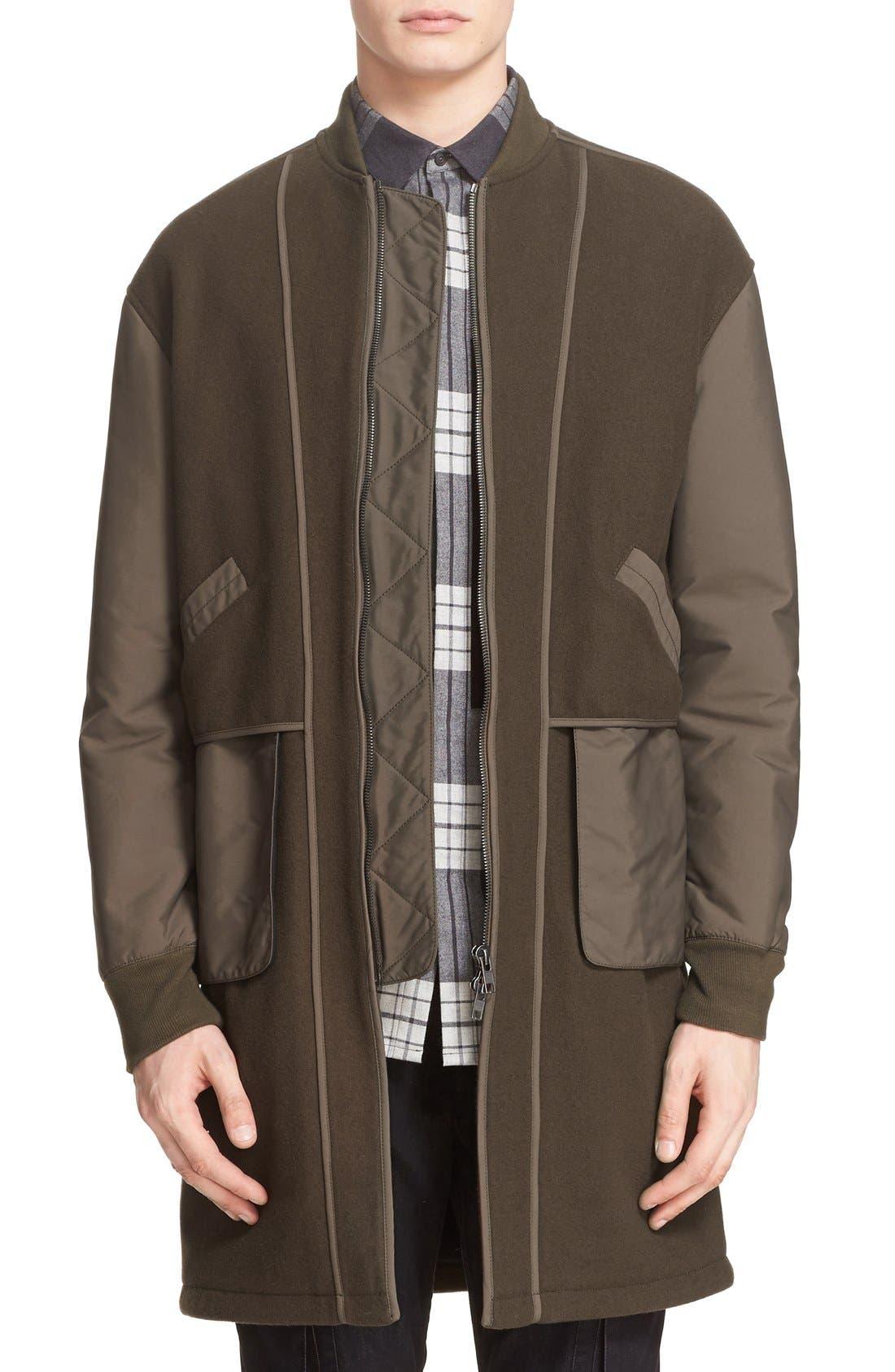 HELMUT LANG Oversize Bomber Coat, Main, color, 326