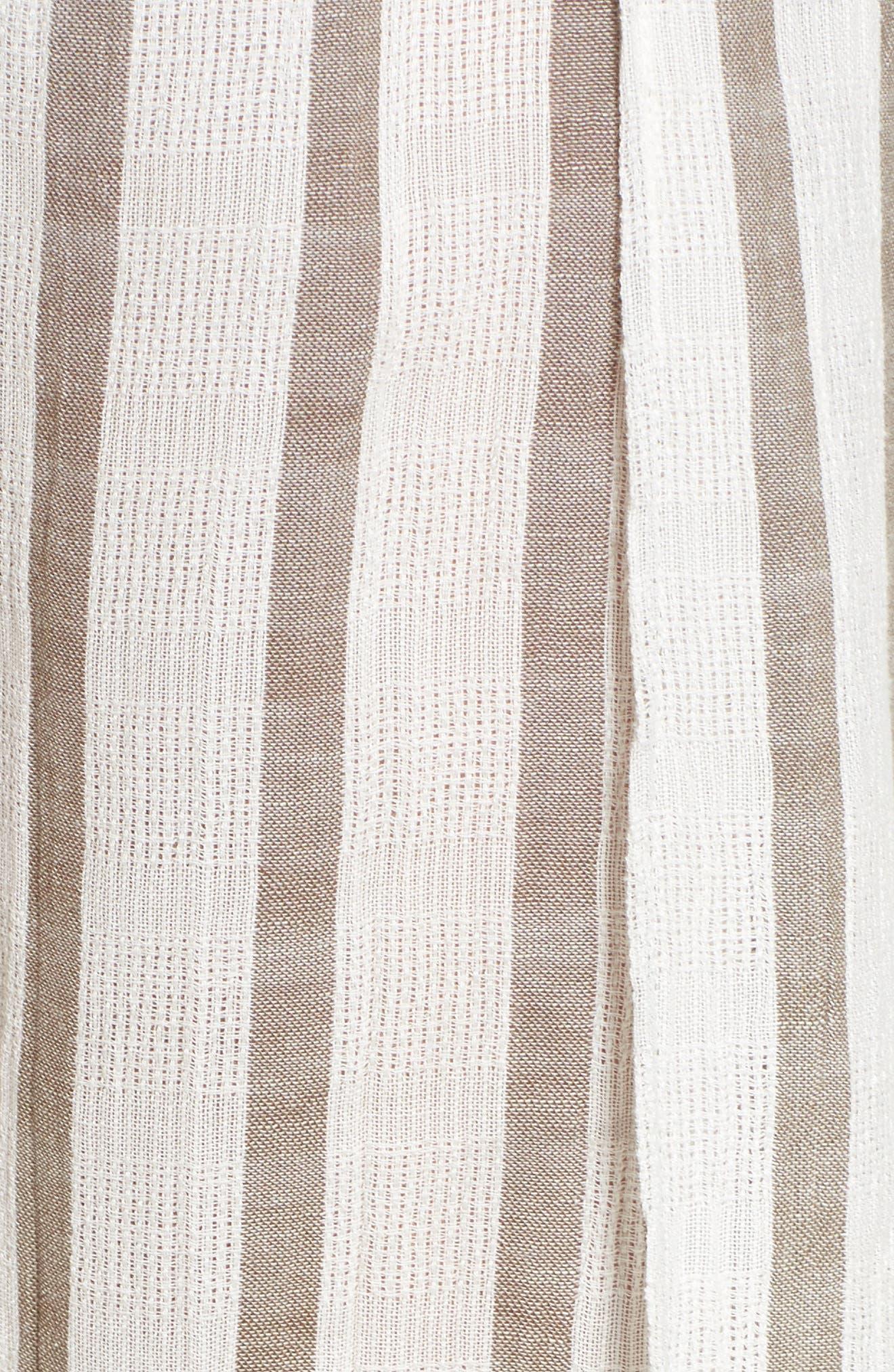 BECCA, Serengeti Cover-Up Pants, Alternate thumbnail 6, color, NATURAL