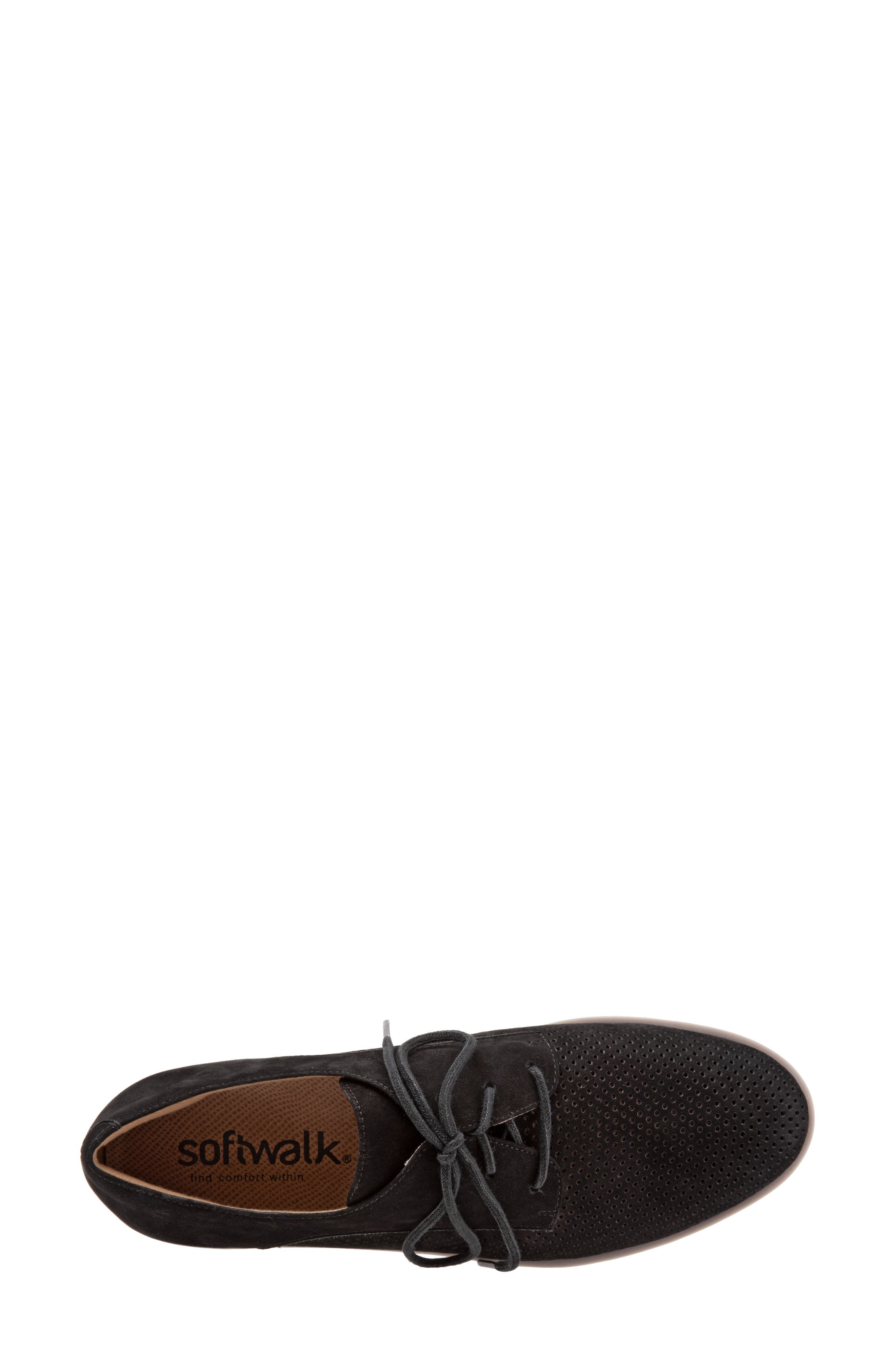 SOFTWALK<SUP>®</SUP>, Willis Derby, Alternate thumbnail 5, color, ONYX LEATHER