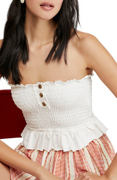 Free People Tops BABE TUBE TOP