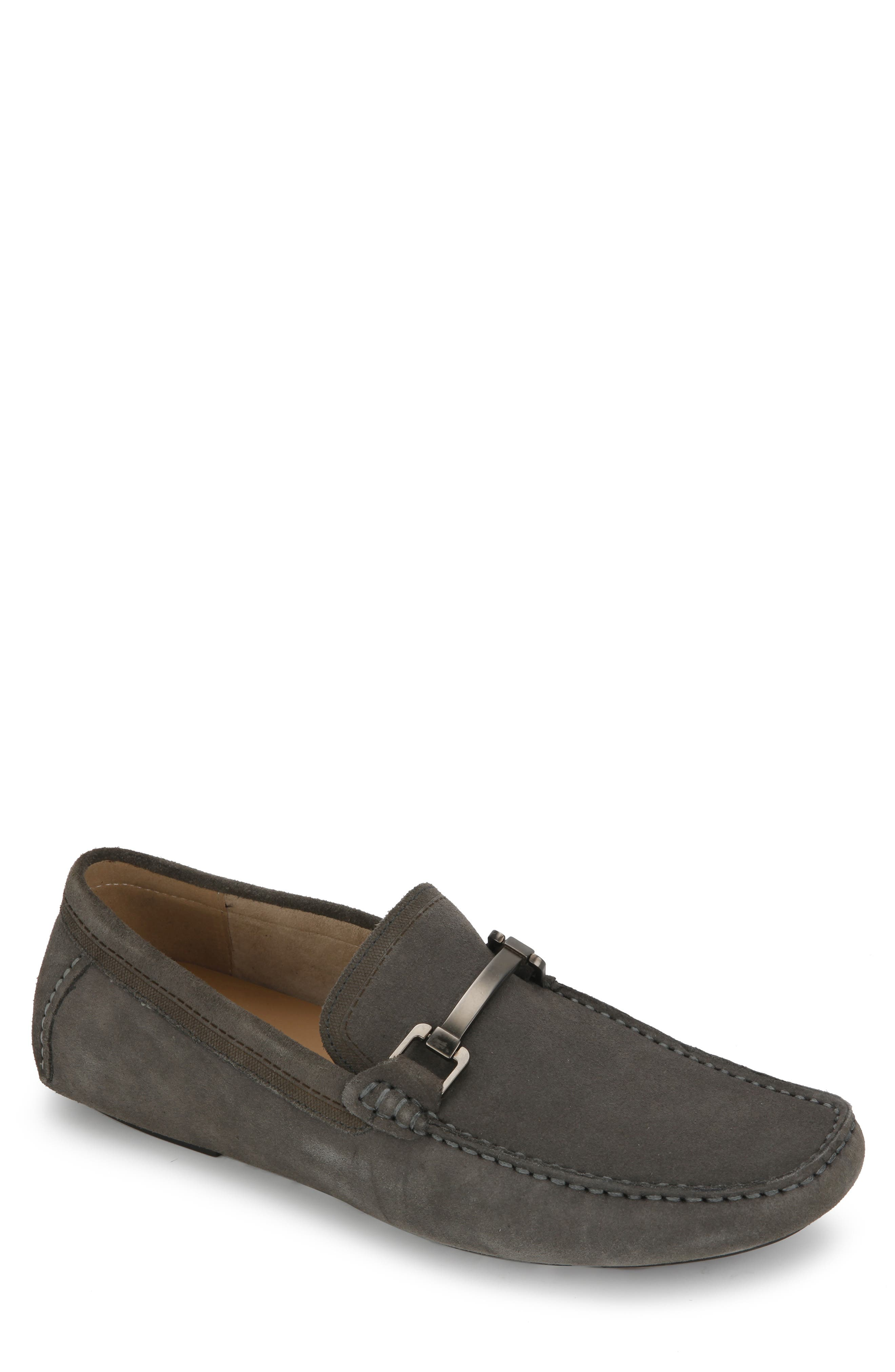 REACTION KENNETH COLE, Sound Driving Shoe, Main thumbnail 1, color, GREY