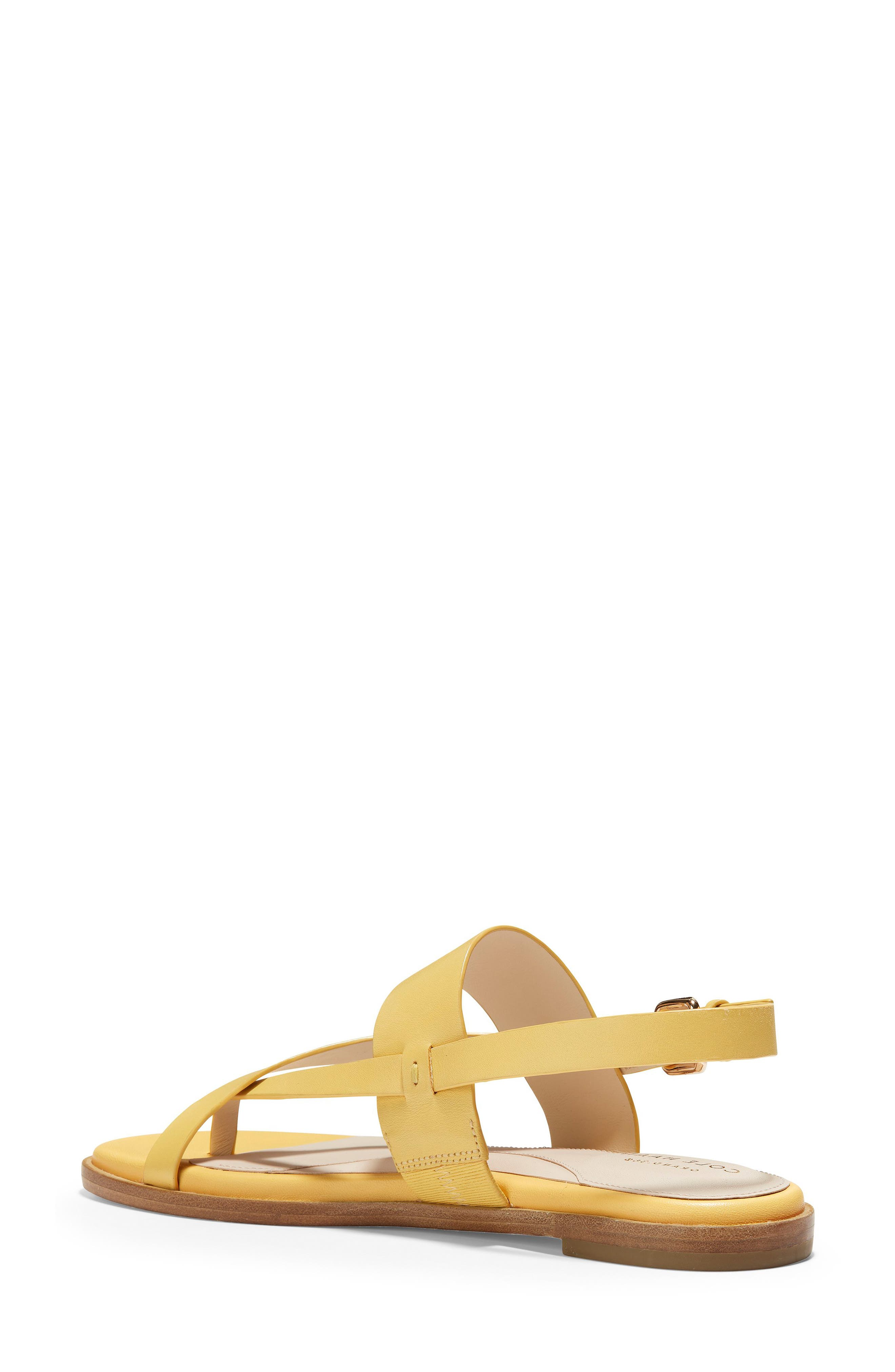 COLE HAAN, Anica Sandal, Alternate thumbnail 2, color, SUNSET GOLD LEATHER