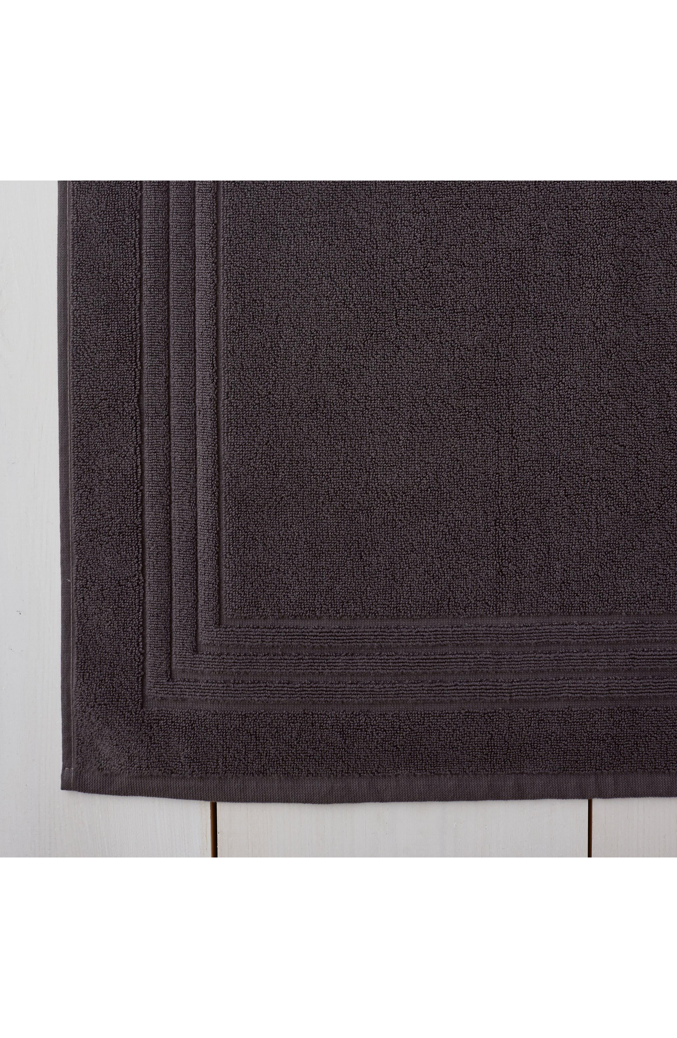 THE WHITE COMPANY, Egyptian Cotton Bath Mat, Alternate thumbnail 2, color, SLATE