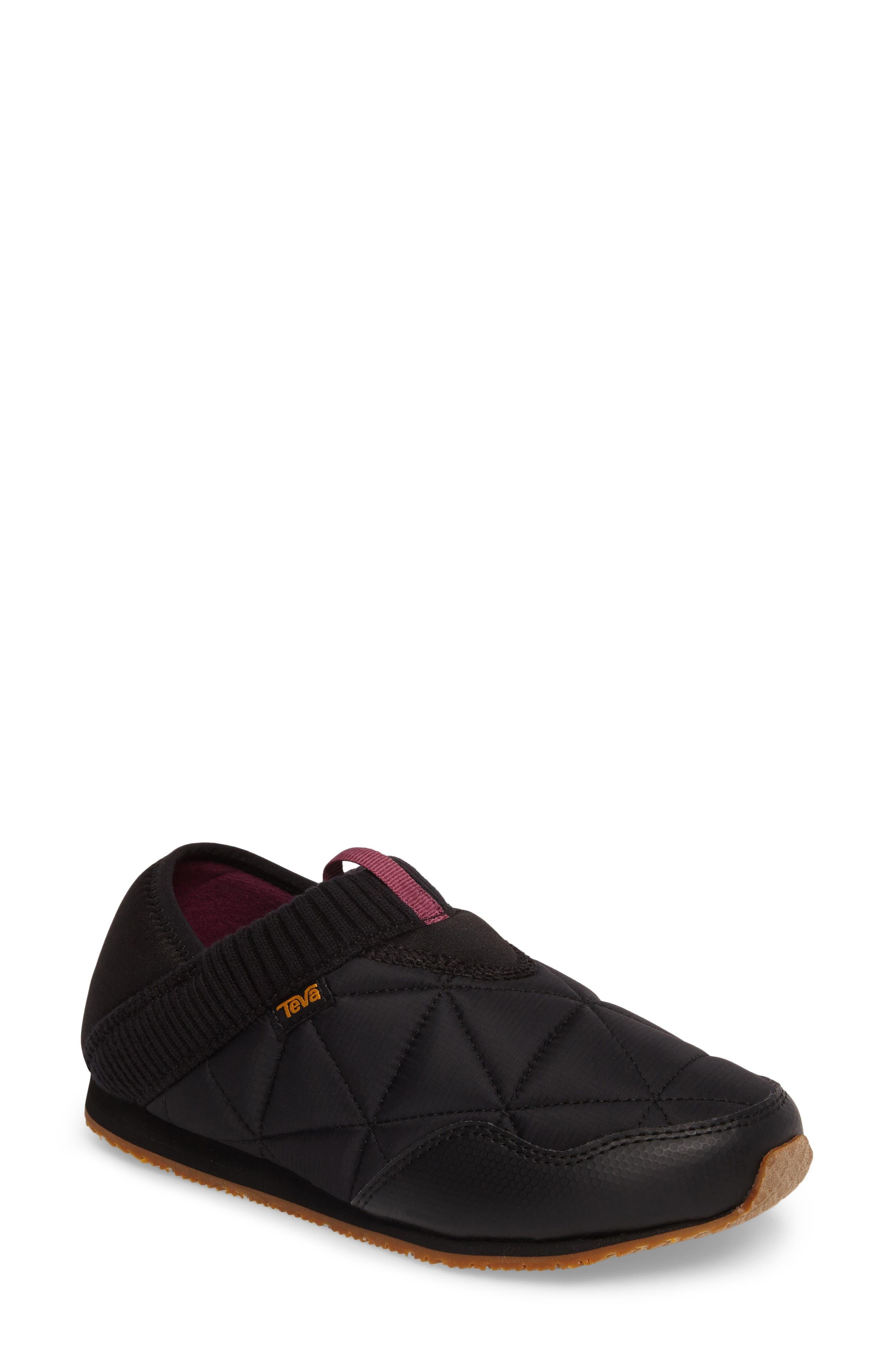 TEVA Ember Convertible Slip-On, Main, color, BLACK FABRIC