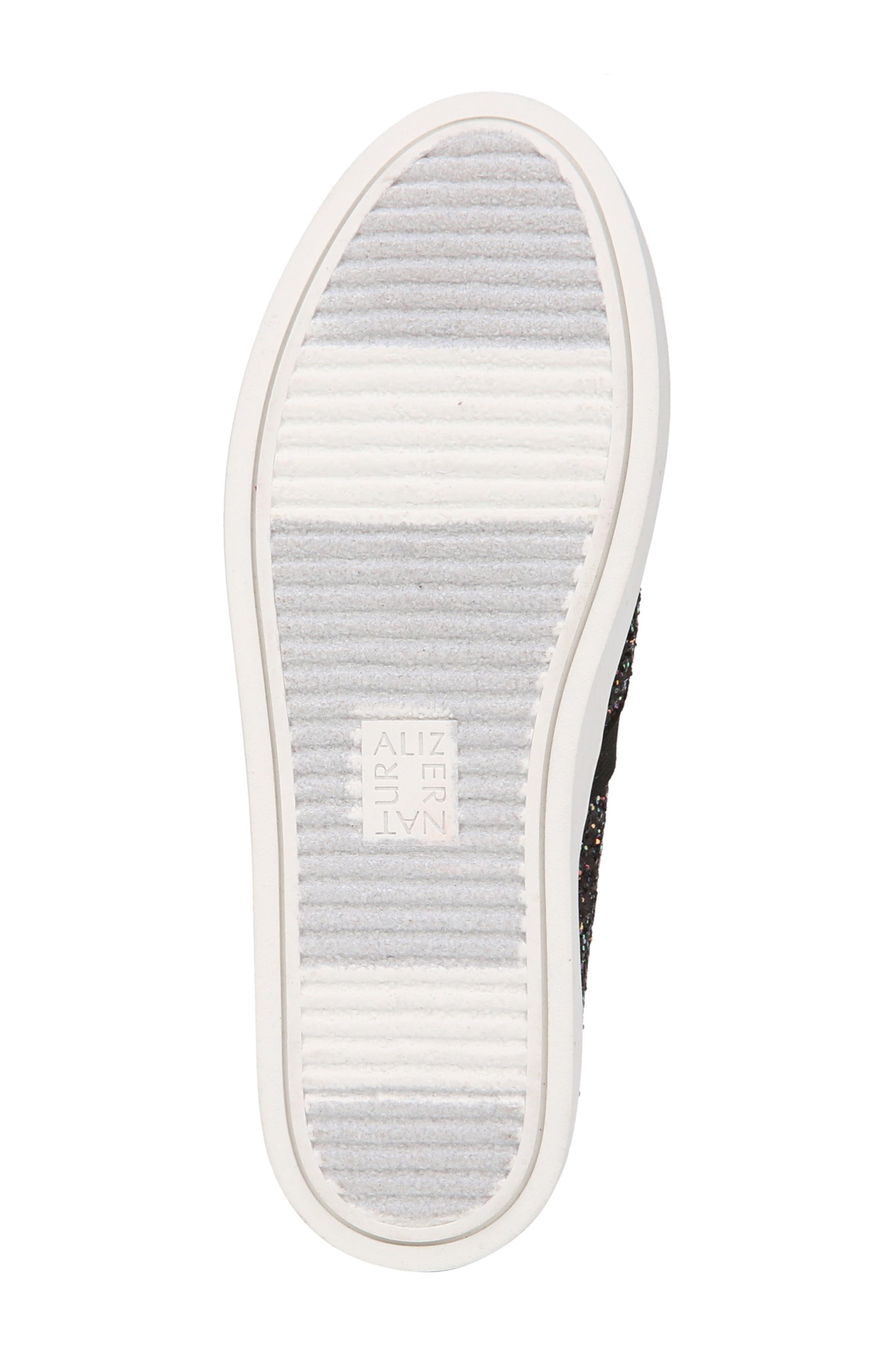 NATURALIZER, Carly Slip-On Sneaker, Alternate thumbnail 2, color, MULTI GLITTER FABRIC