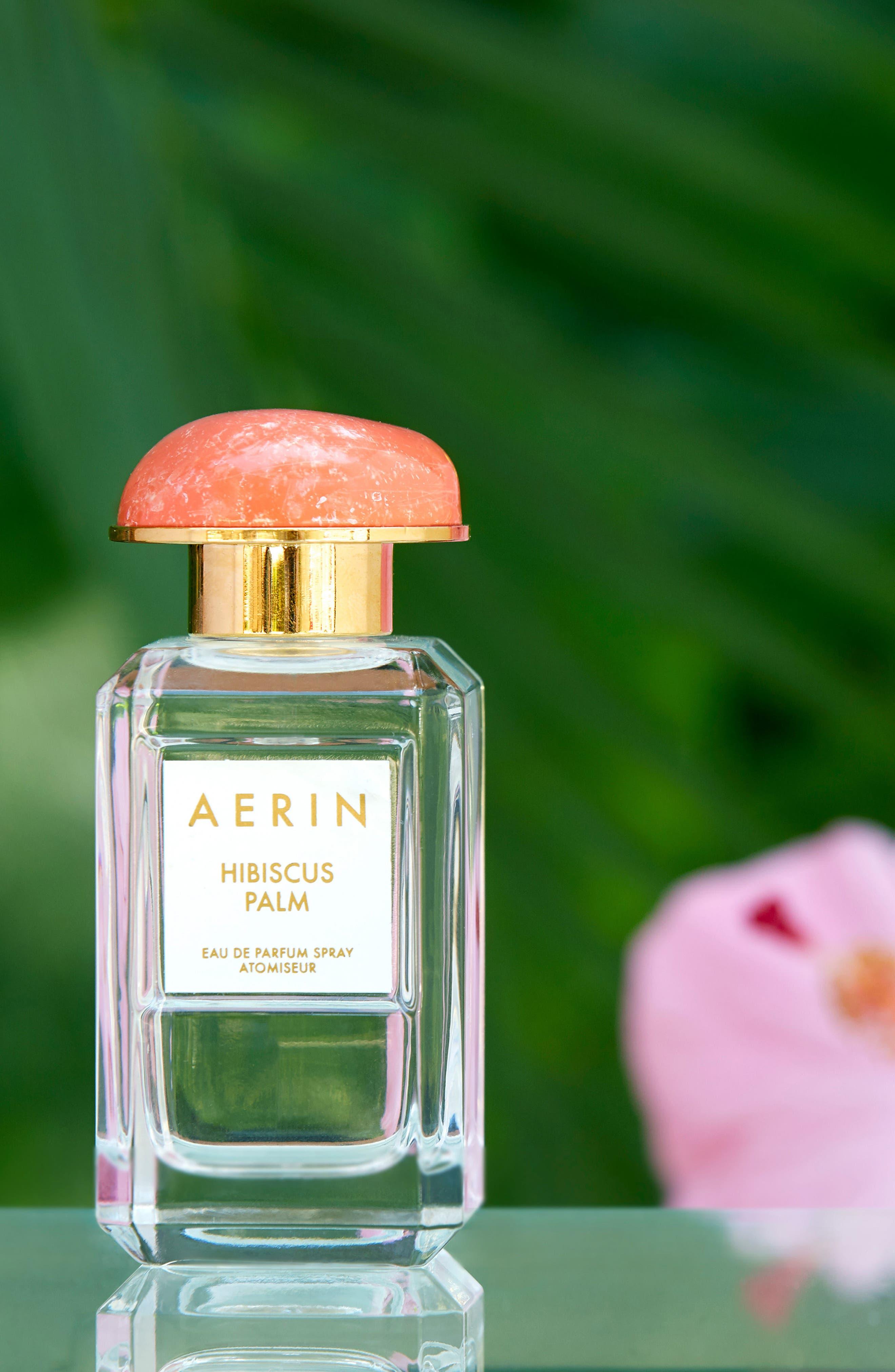 ESTÉE LAUDER, Aerin Beauty Hibiscus Palm Eau de Parfum, Alternate thumbnail 6, color, NO COLOR