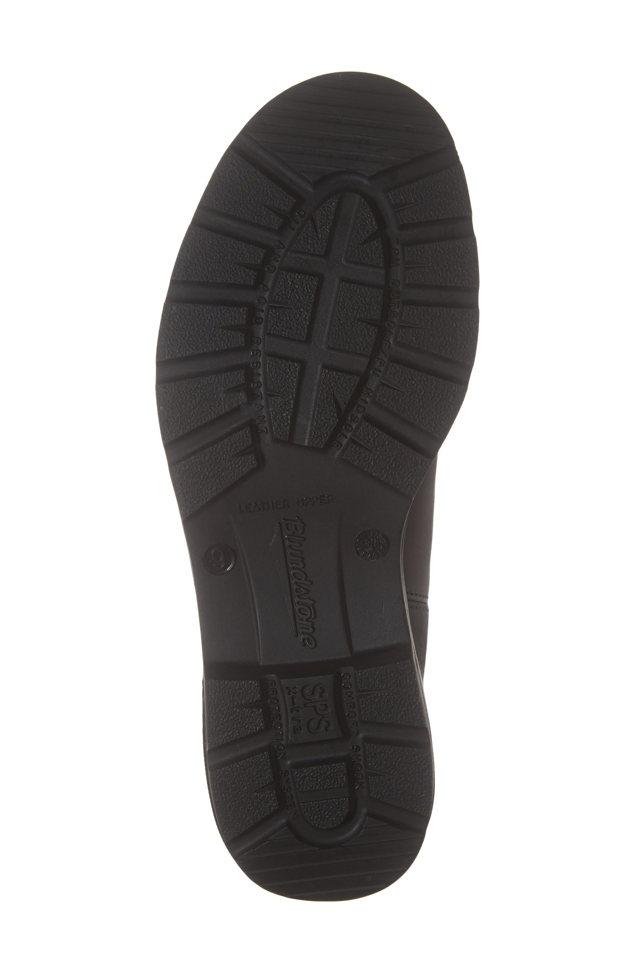 BLUNDSTONE FOOTWEAR, Chelsea Boot, Alternate thumbnail 6, color, BLACK