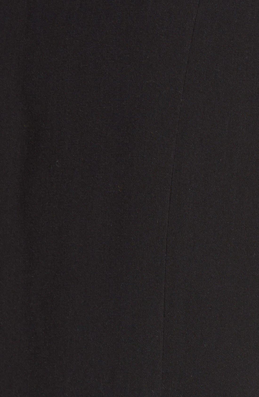 HALOGEN<SUP>®</SUP>, Shawl Collar Vest, Alternate thumbnail 3, color, 001