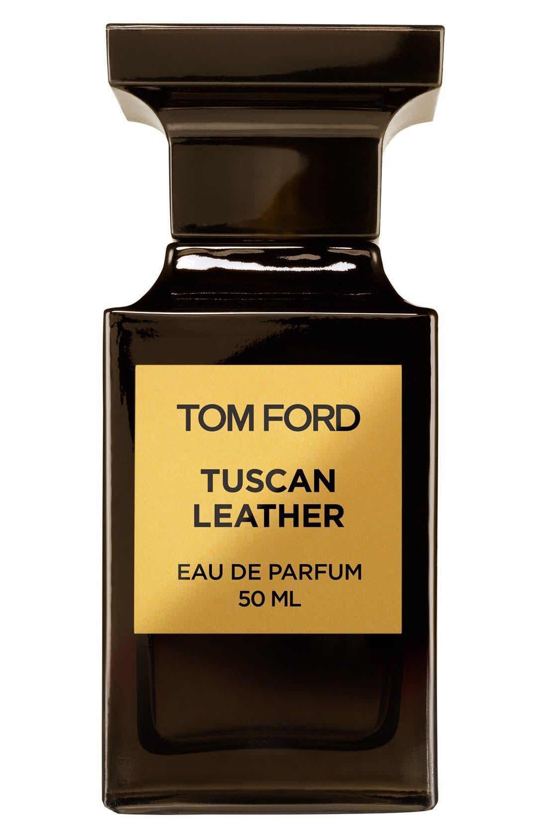 TOM FORD, Private Blend Tuscan Leather Eau de Parfum, Main thumbnail 1, color, NO COLOR