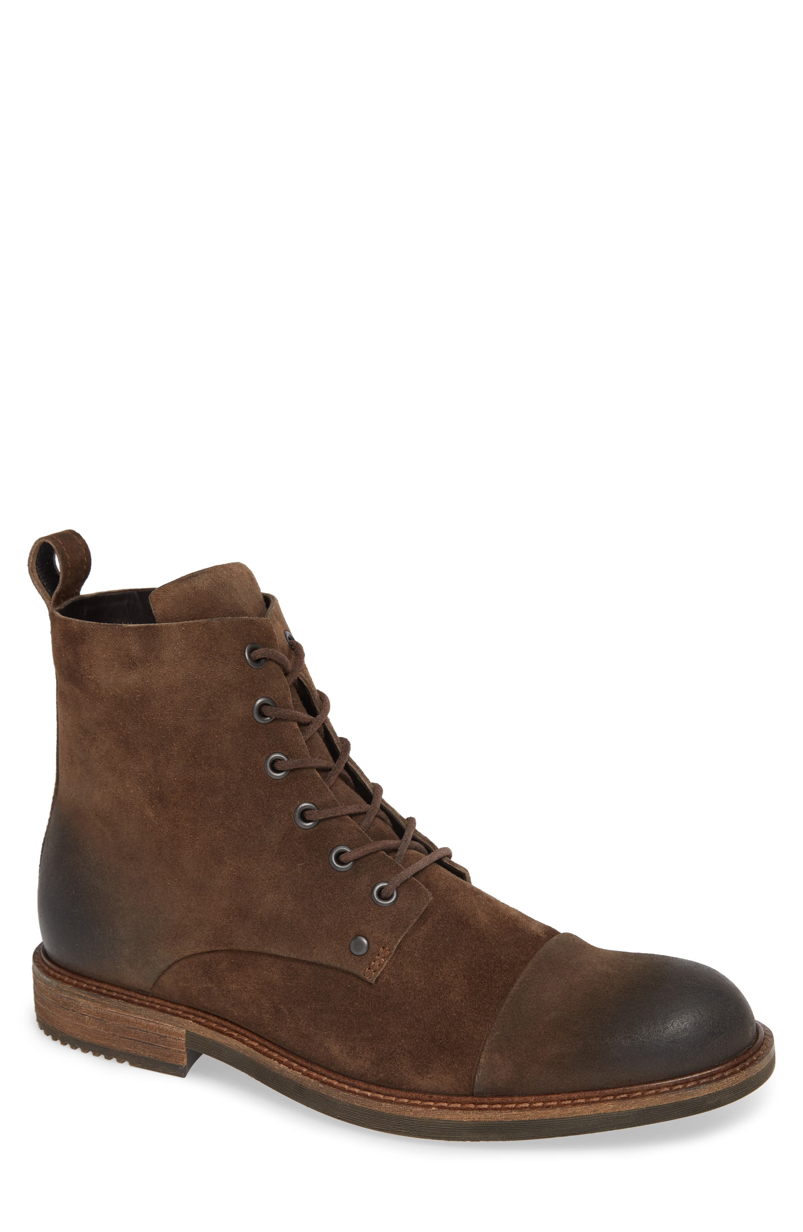 Ecco Kenton Artisan Cap Toe Boot - Brown