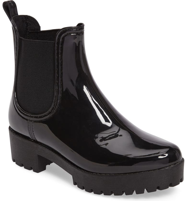 01f7e03a146 Jeffrey Campbell Cloudy Waterproof Chelsea Rain Boot (Women)