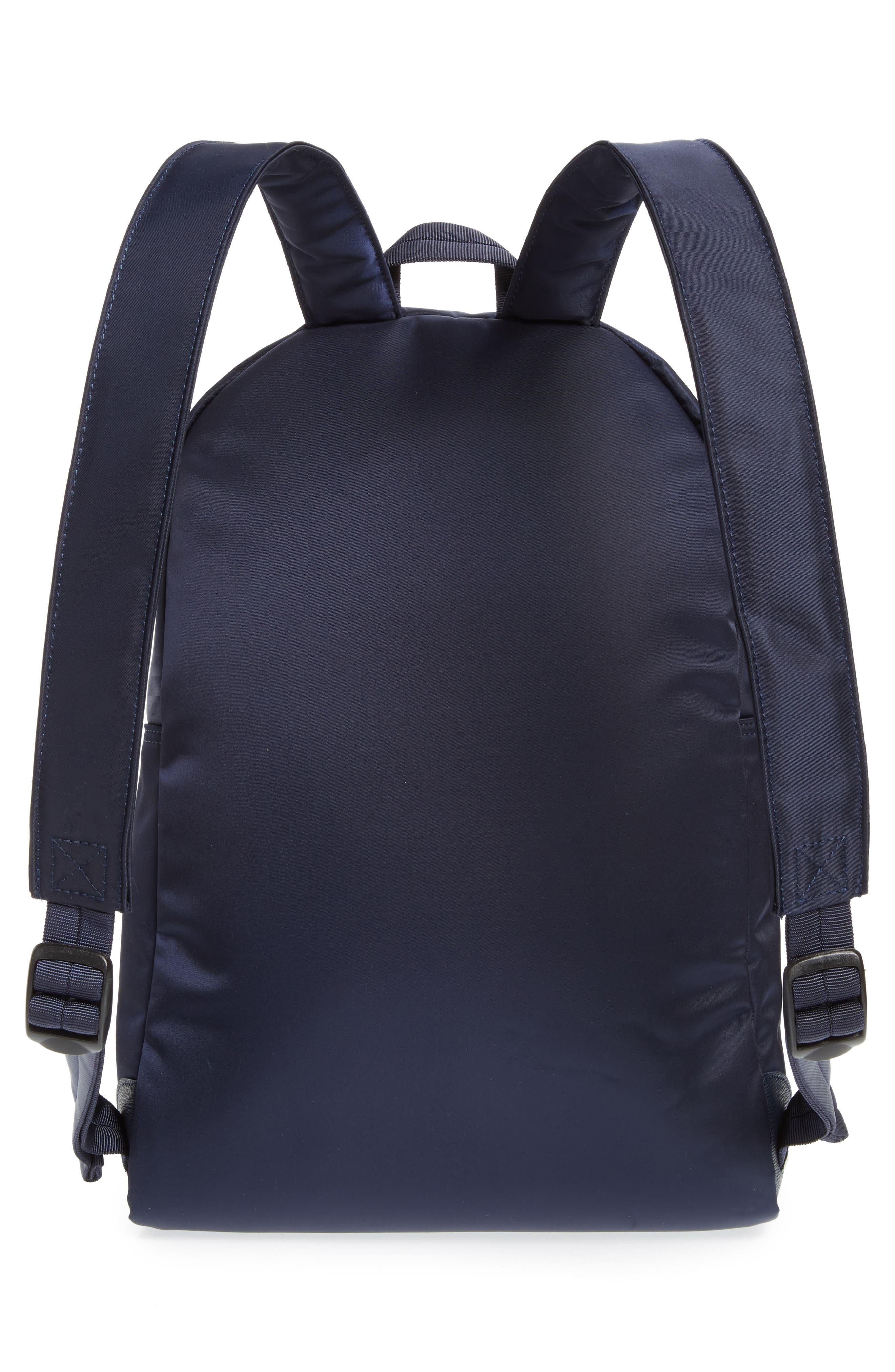 LONGCHAMP, 'Le Pliage Neo' Nylon Backpack, Alternate thumbnail 4, color, NAVY BLUE