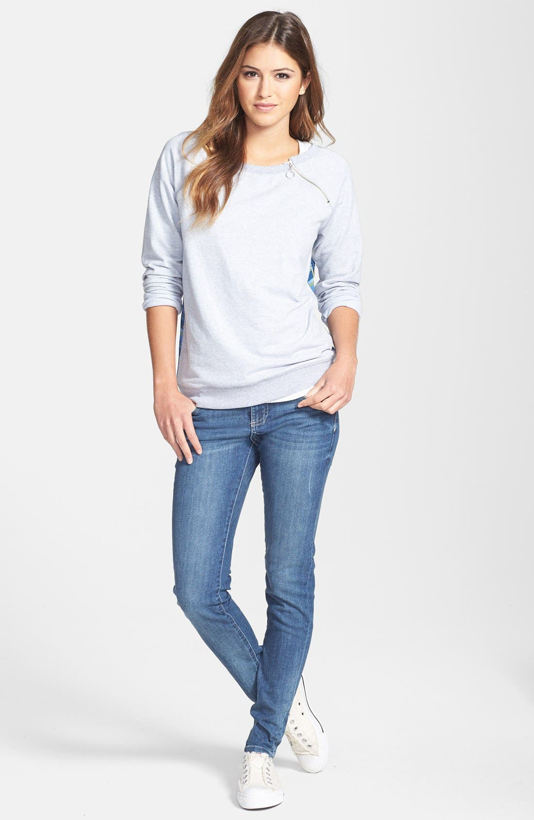 KUT FROM THE KLOTH, 'Mia' Skinny Jeans, Alternate thumbnail 5, color, 433