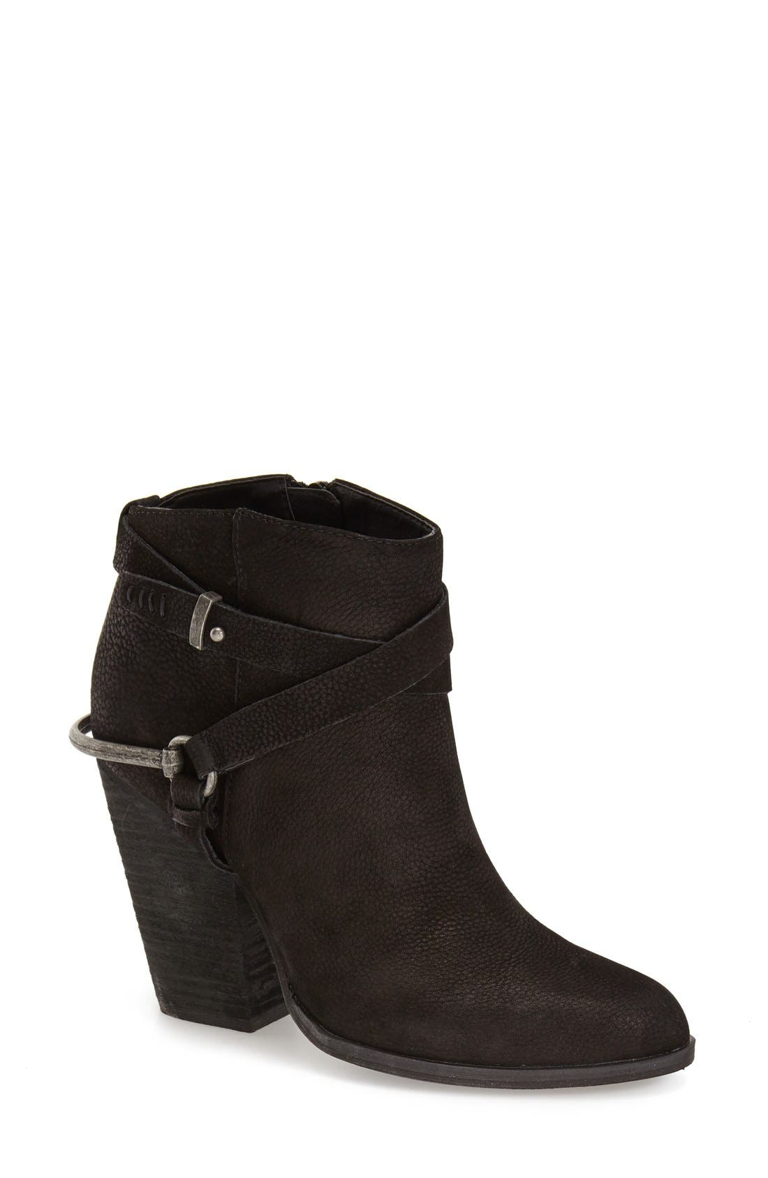 VERY VOLATILE Ankle Bootie, Main, color, 001