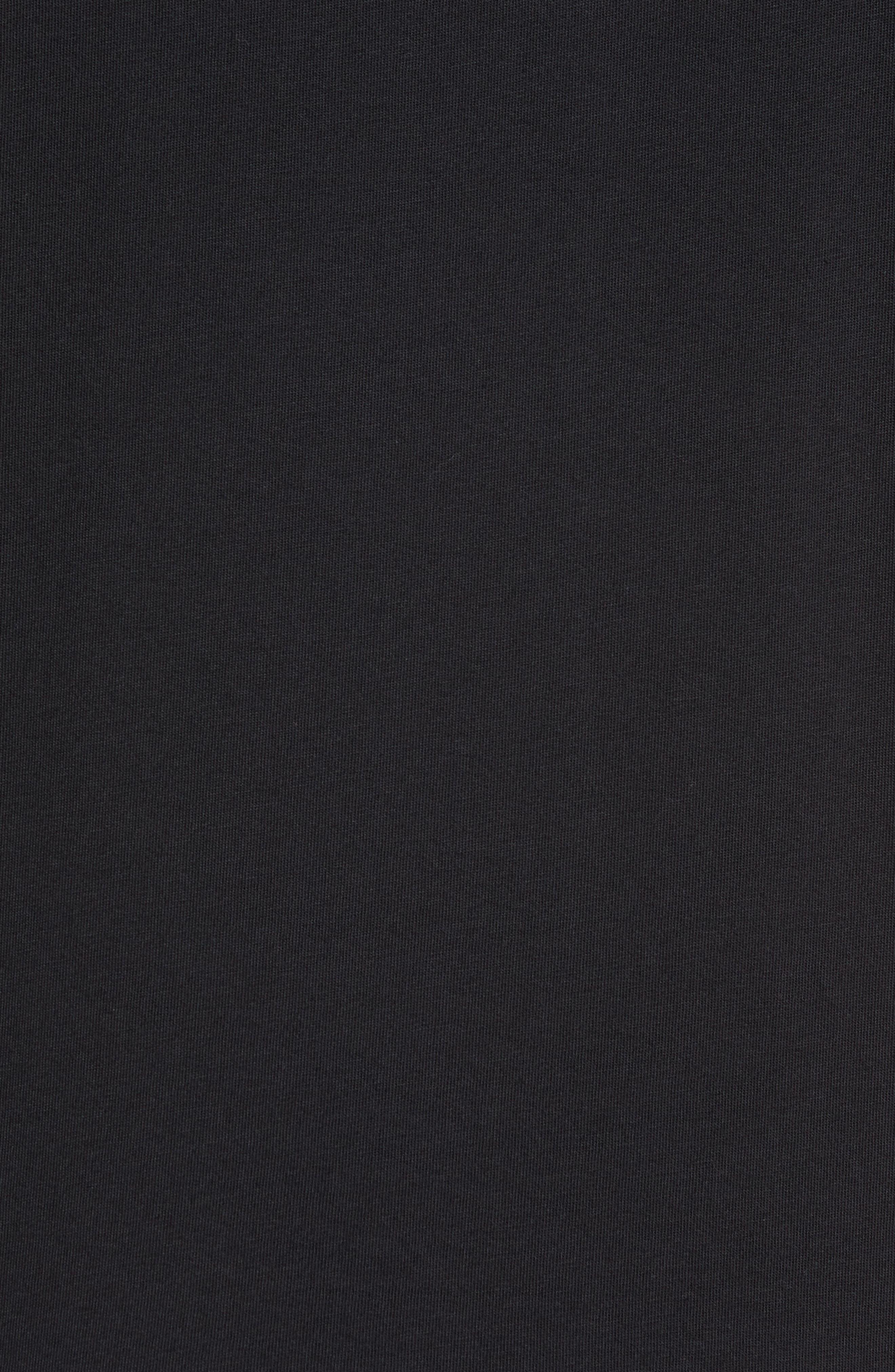 NEW BALANCE, NB Shoe Box Graphic T-Shirt, Alternate thumbnail 5, color, BLACK