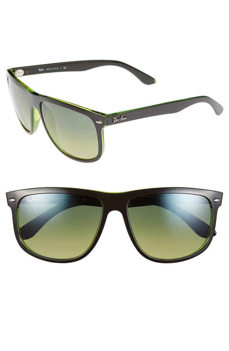 79d8b94375f0 RAY-BAN 'Flat Top Boyfriend' 60mm Sunglasses, Main, color, ...
