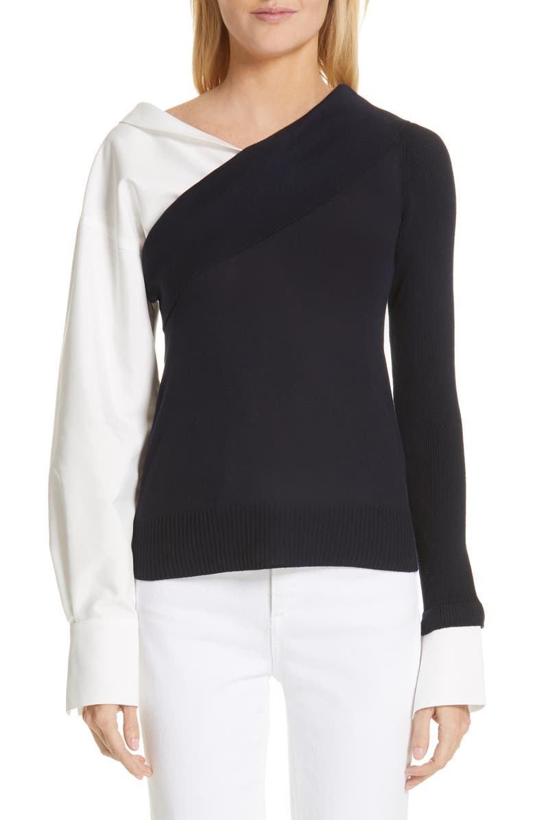 Adeam TWO-WAY KNIT TOP
