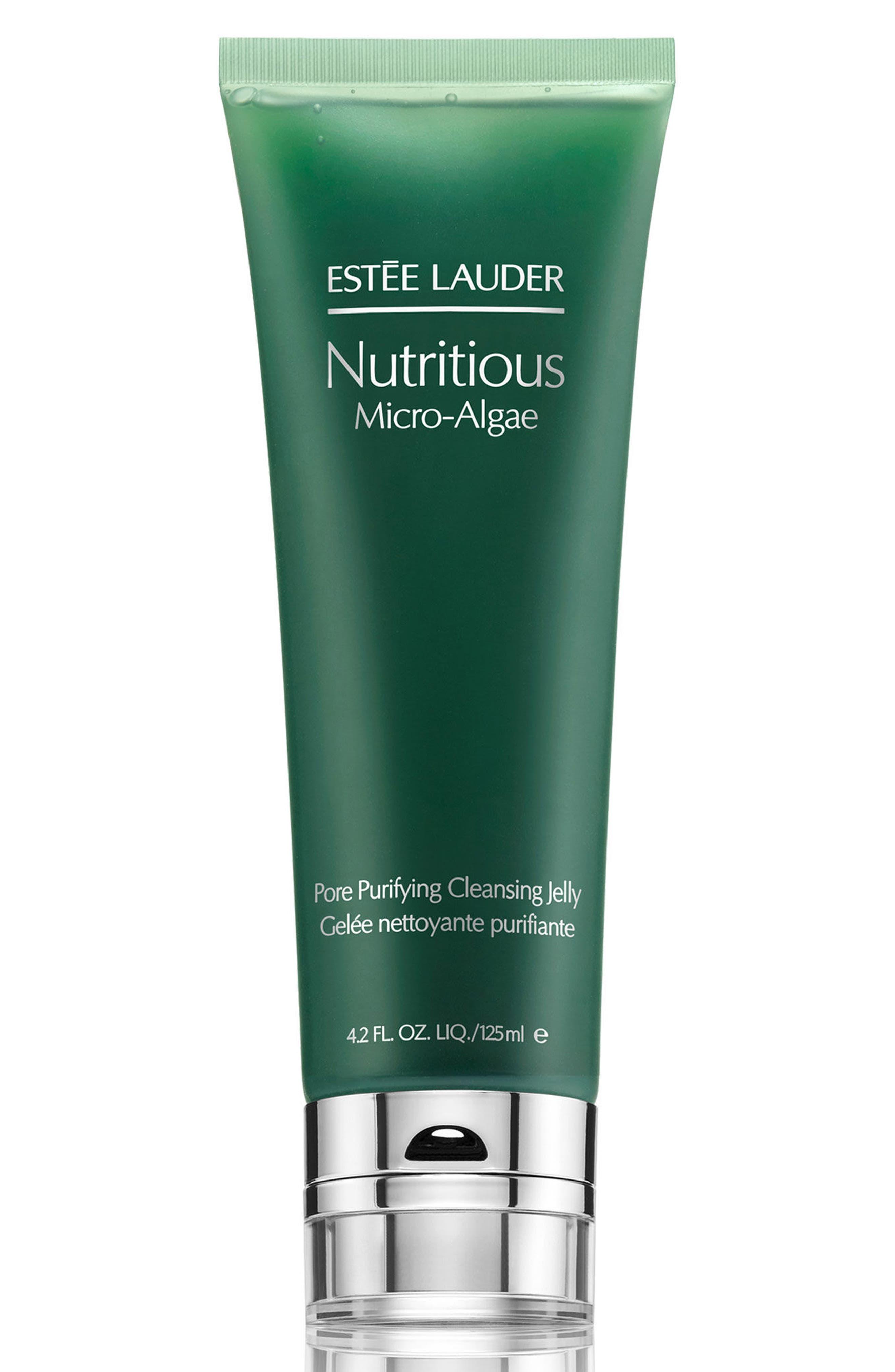 ESTÉE LAUDER, Nutritious Micro-Algae Pore Purifying Cleansing Gel, Main thumbnail 1, color, NO COLOR