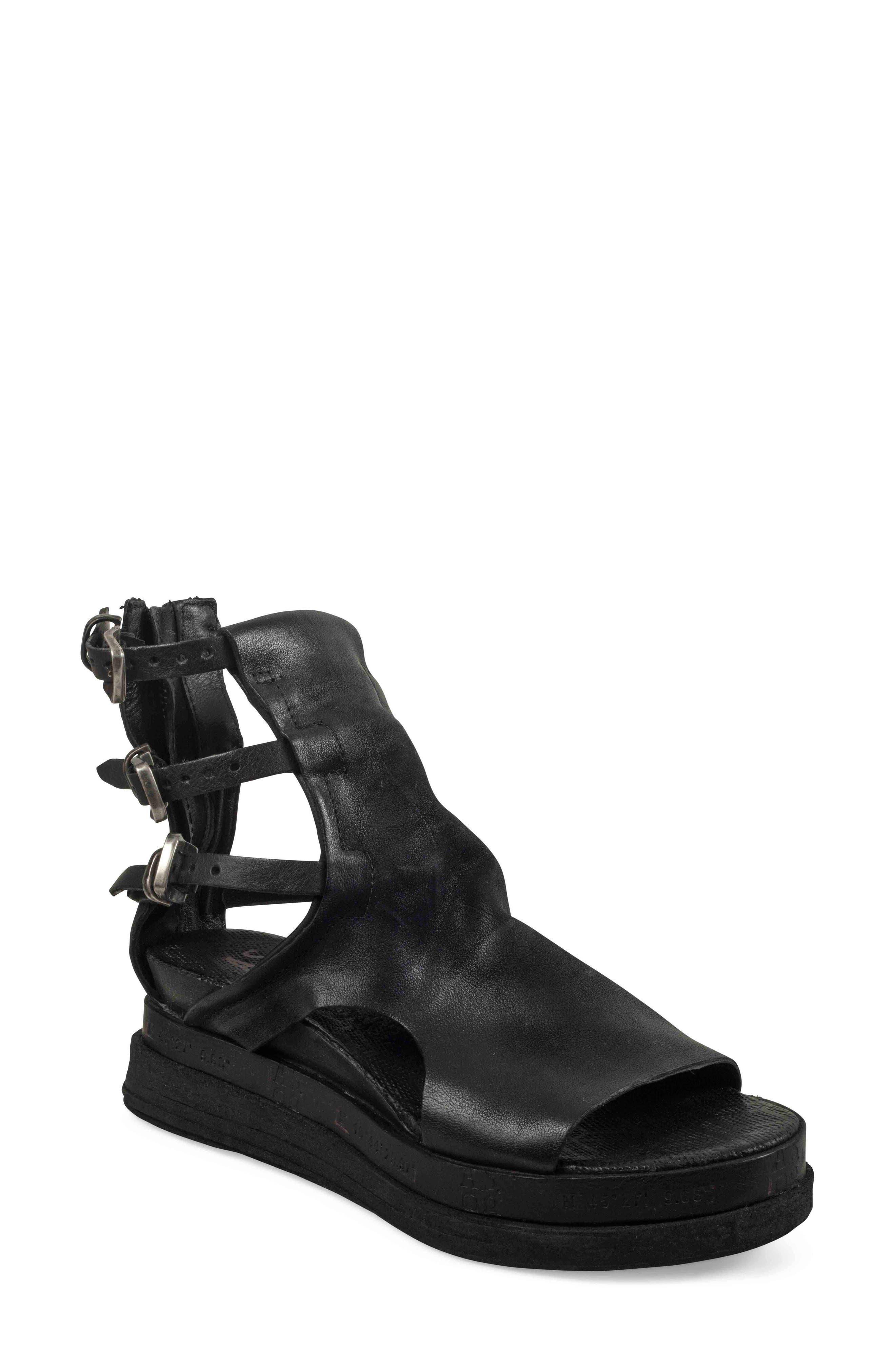 A.S.98 Landon Sandal, Main, color, BLACK