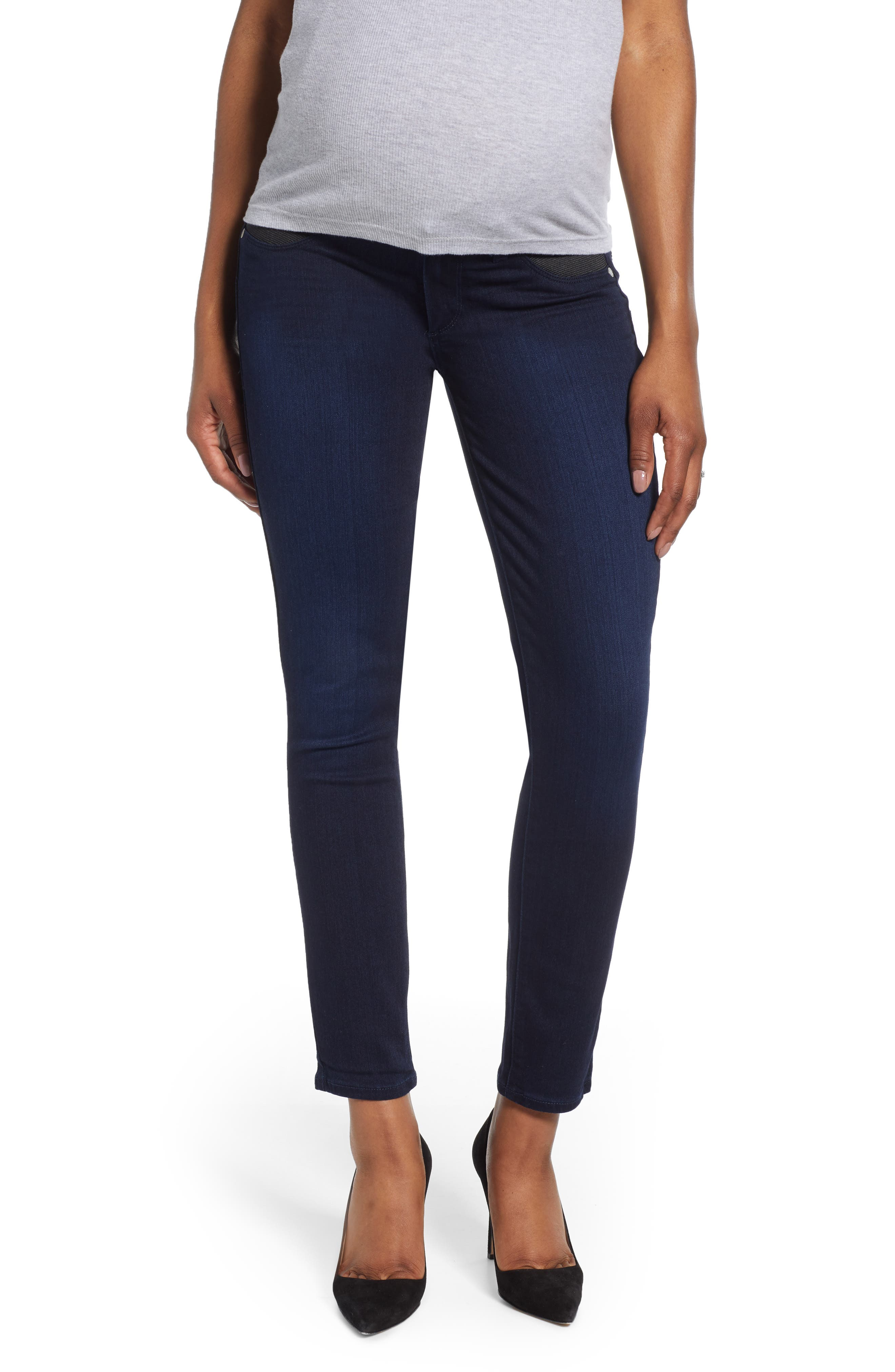 Women's Paige Transcend - Verdugo Ultra Skinny Maternity Jeans
