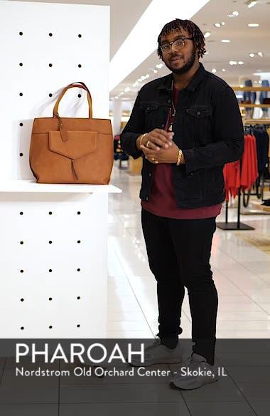 Lyndi Faux Leather Tote, sales video thumbnail
