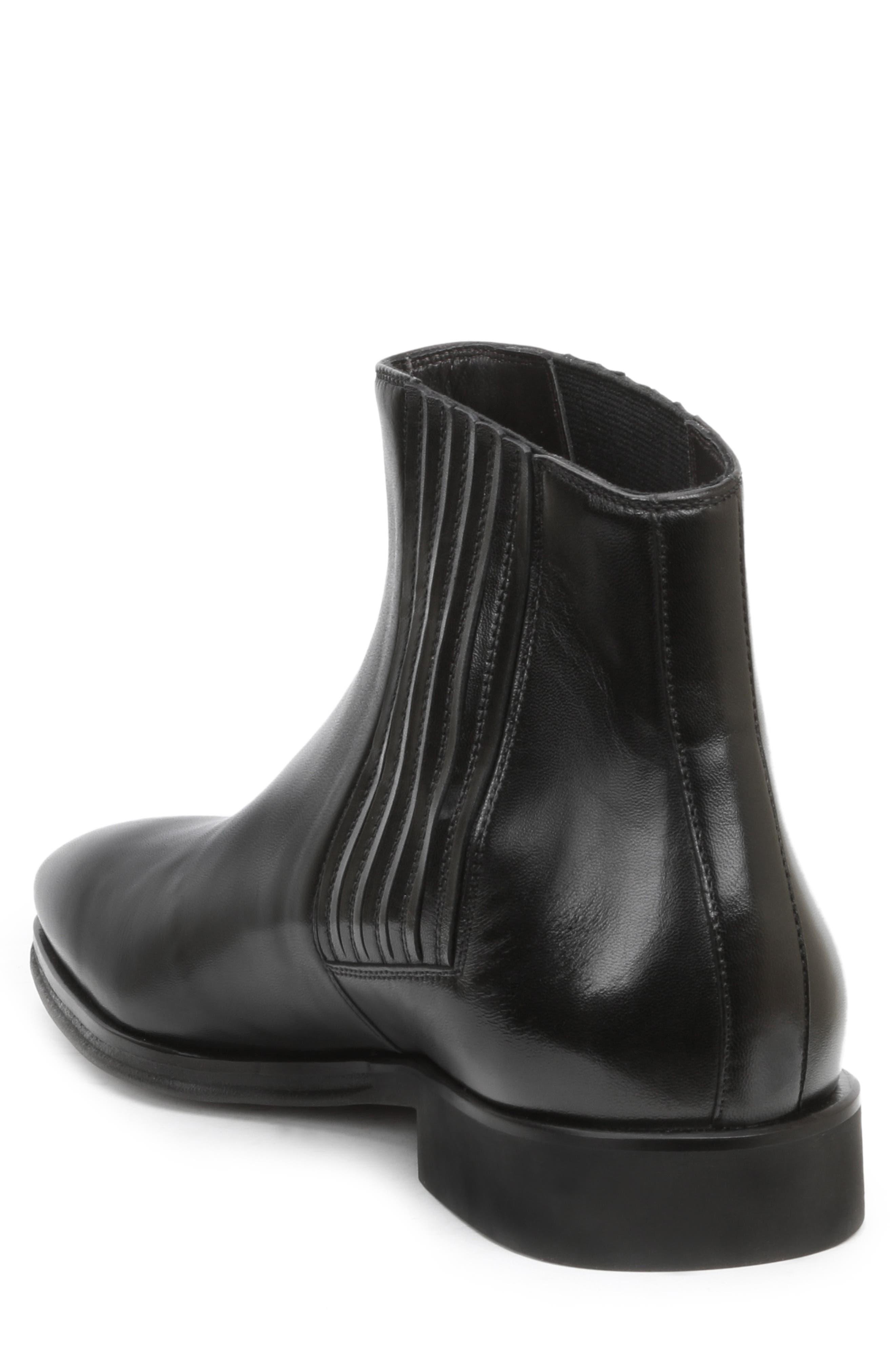 BRUNO MAGLI, Rezzo Chelsea Boot, Alternate thumbnail 2, color, BLACK
