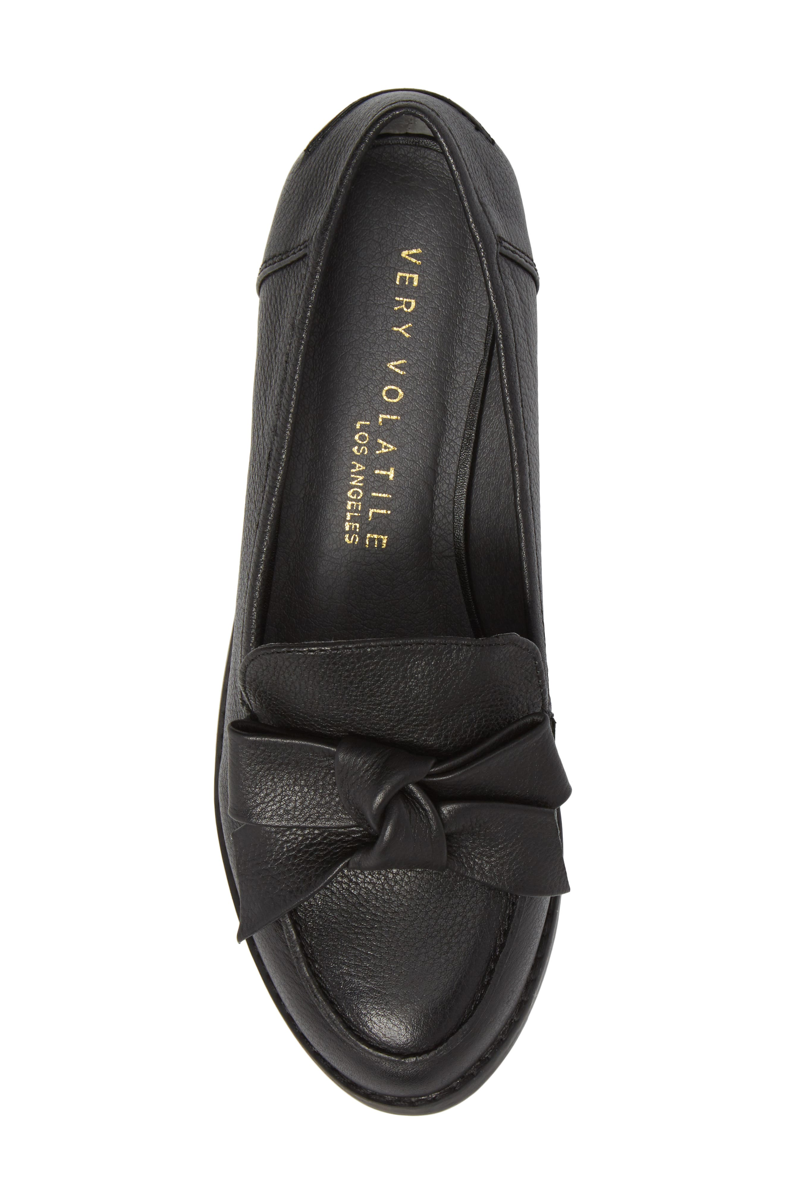 VERY VOLATILE, Beaux Loafer, Alternate thumbnail 5, color, 001