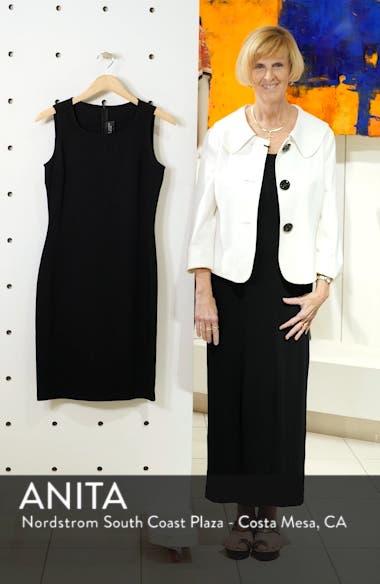 Sleeveless Milano Knit Dress, sales video thumbnail