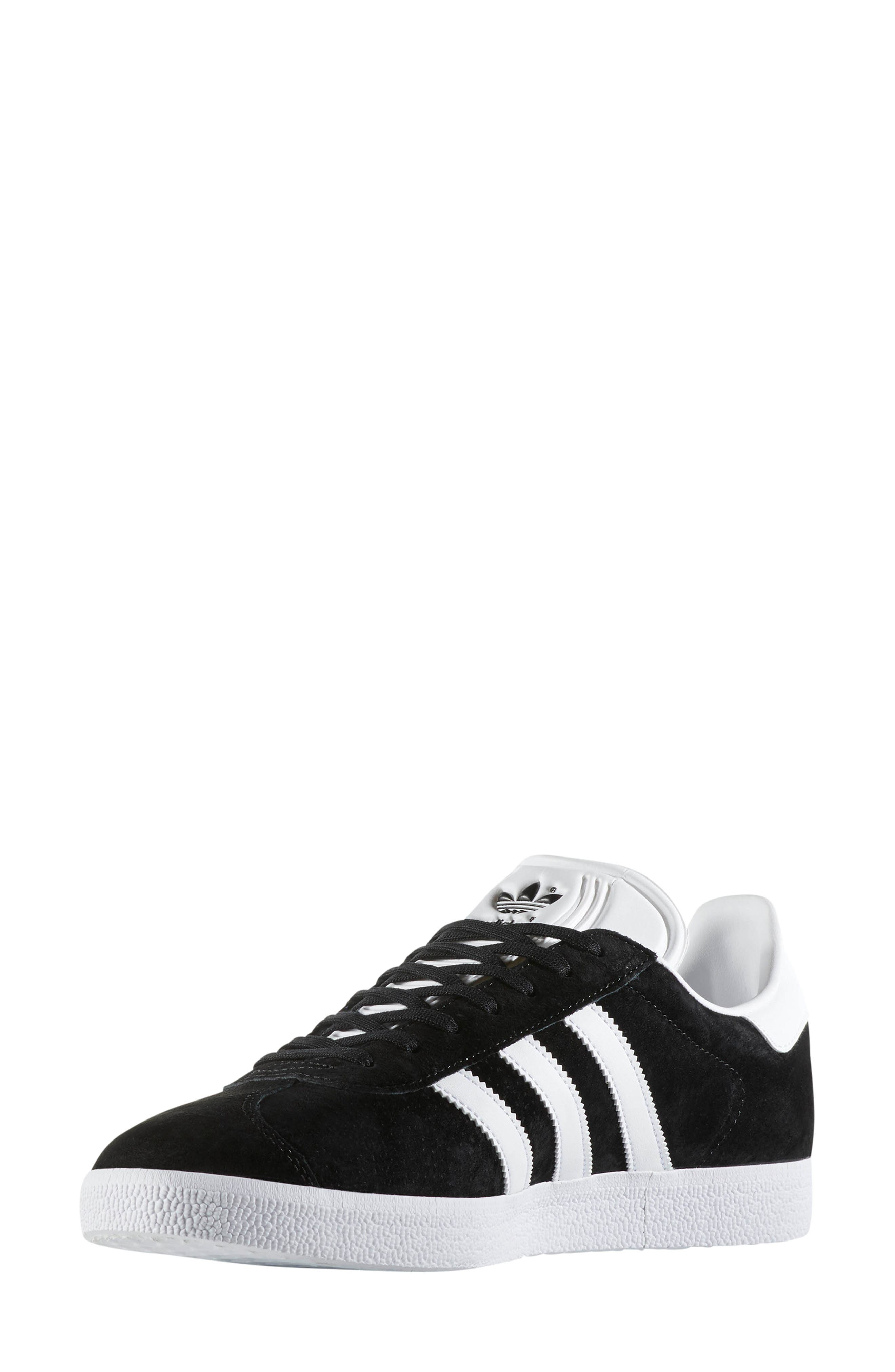 ADIDAS, Gazelle Sneaker, Alternate thumbnail 8, color, 003