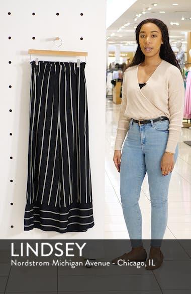 Flip Out Stripe Wide Leg Pants, sales video thumbnail