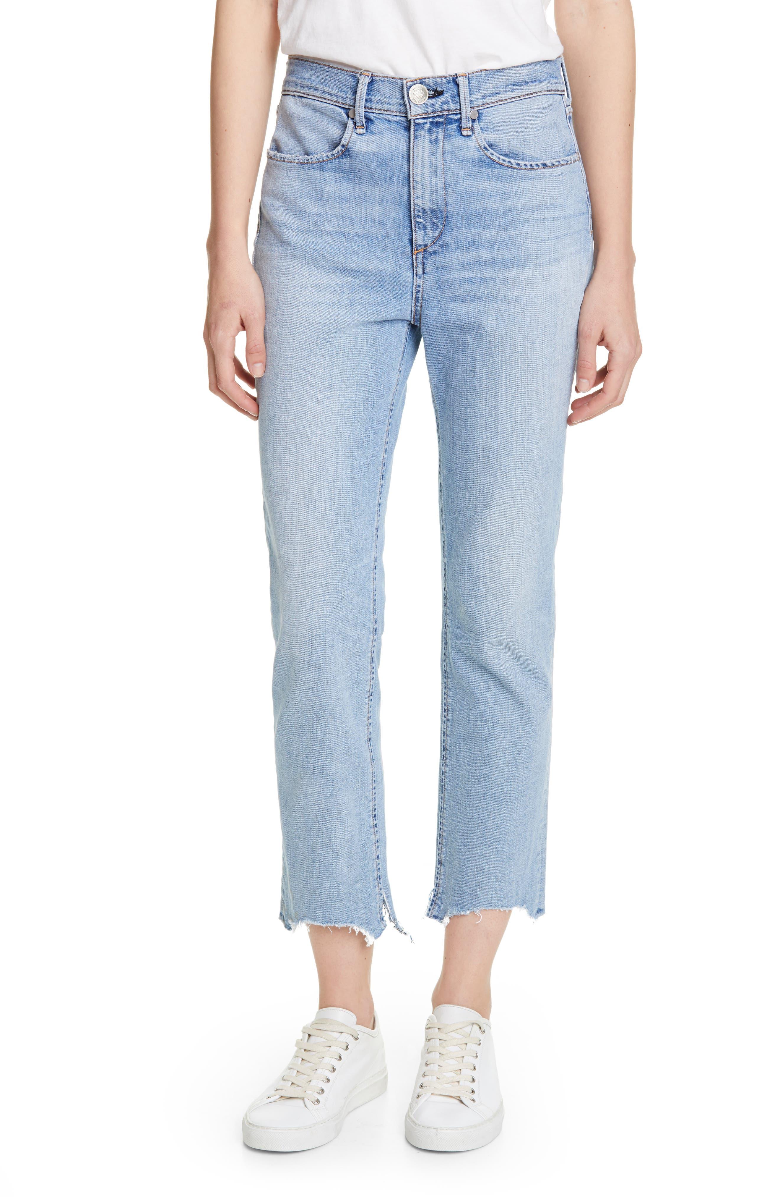 Nina High Waist Crop Cigarette Jeans by Rag & Bone