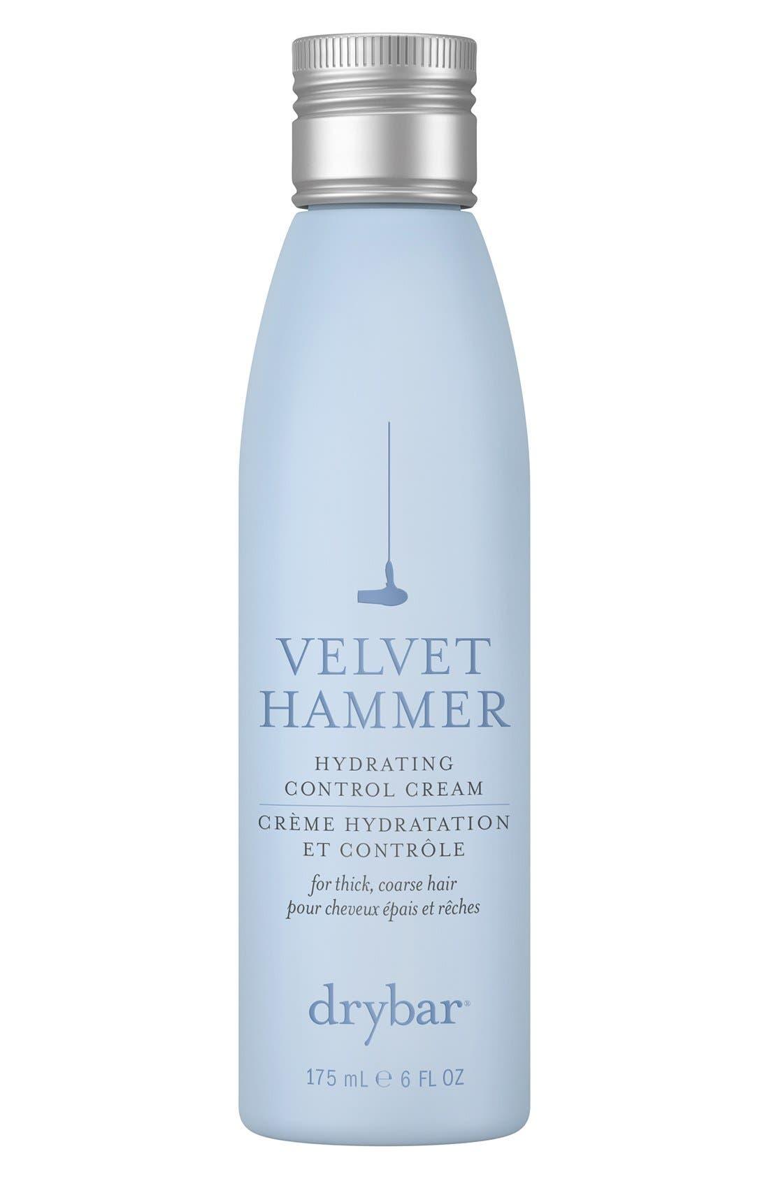 DRYBAR, Velvet Hammer Hydrating Control Cream, Main thumbnail 1, color, NO COLOR