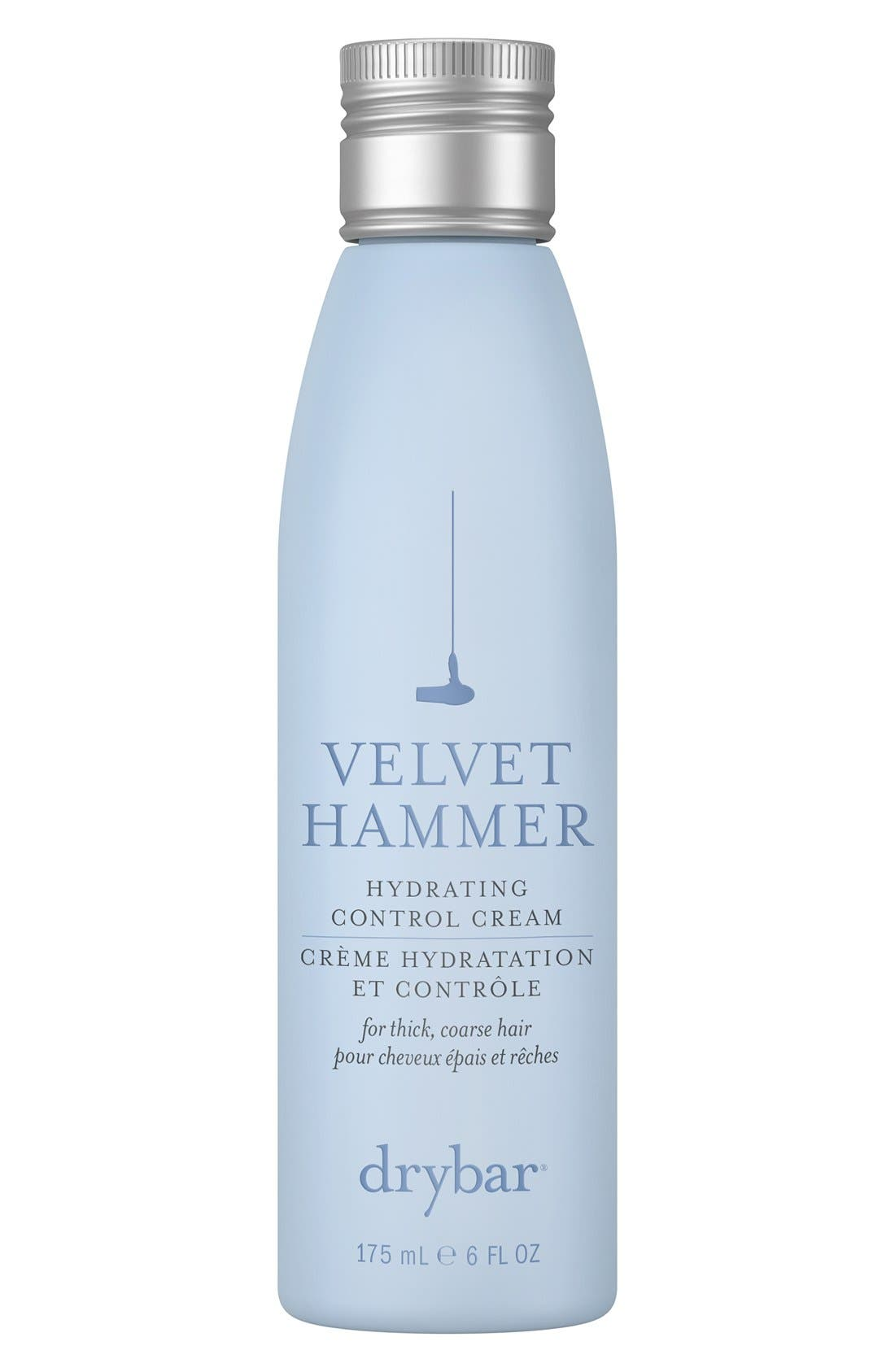 DRYBAR Velvet Hammer Hydrating Control Cream, Main, color, NO COLOR