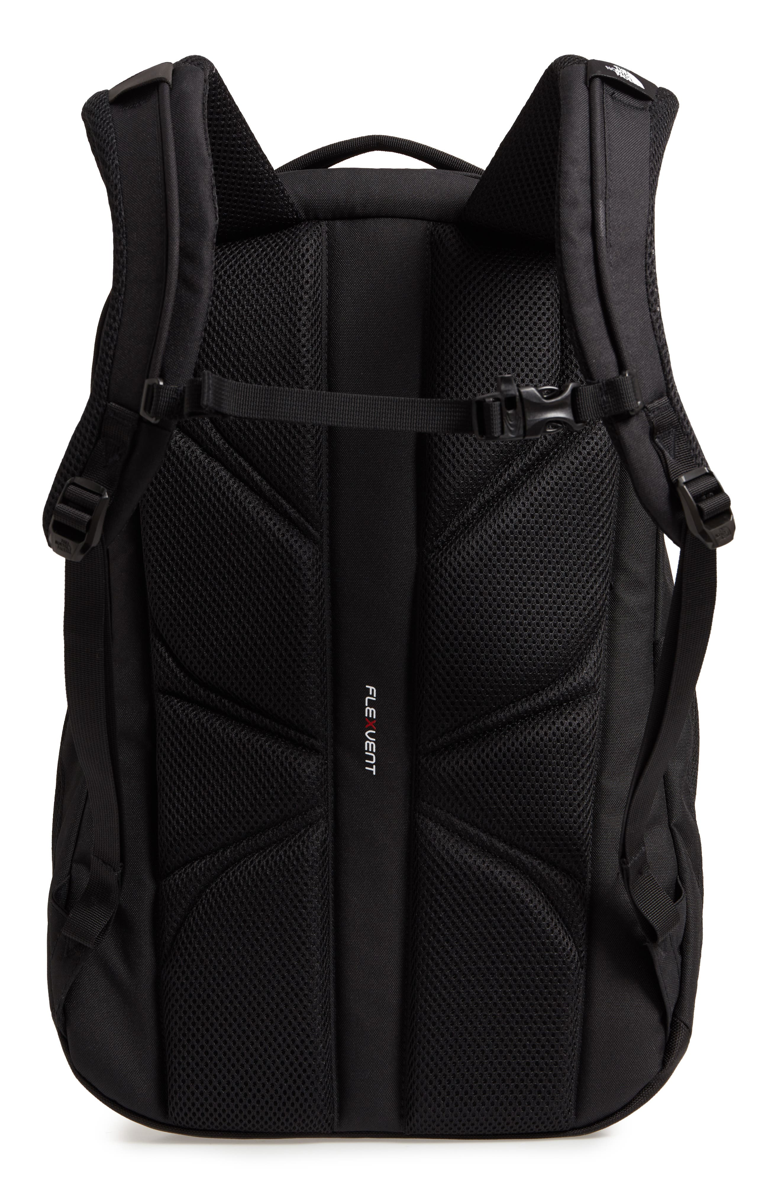 THE NORTH FACE, 'Jester' Backpack, Alternate thumbnail 4, color, TNF BLACK