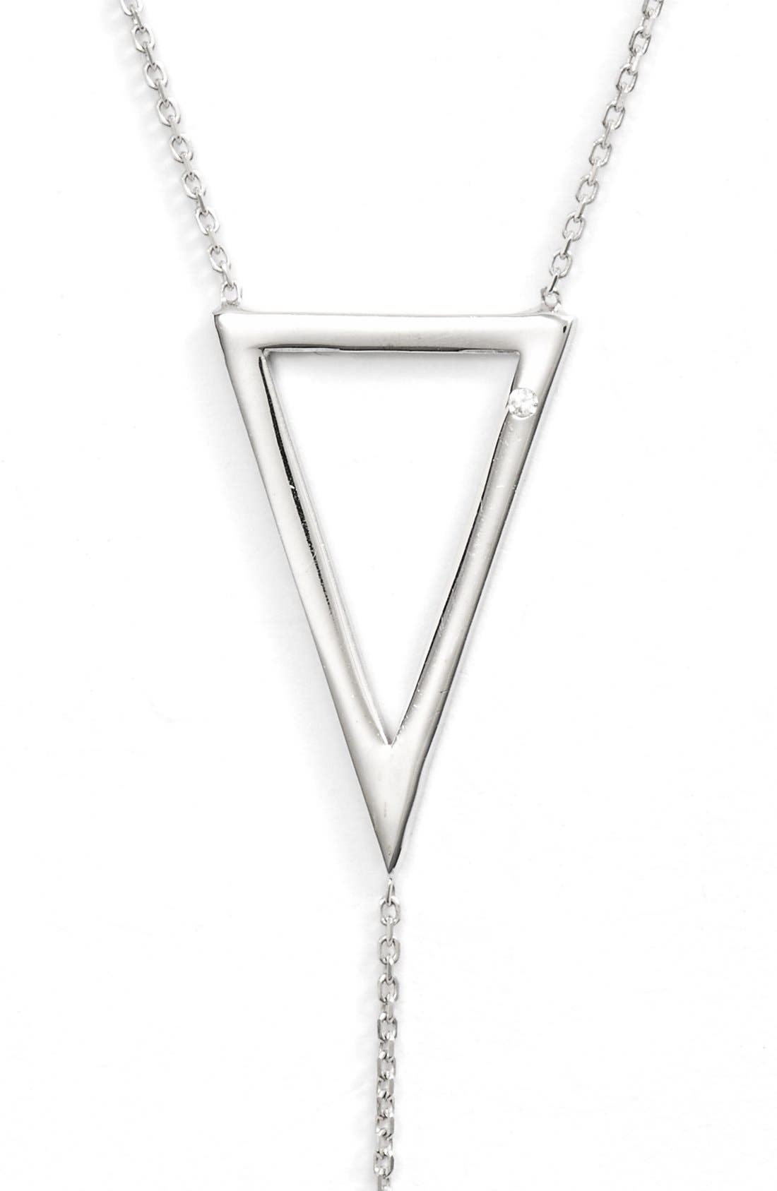 ARGENTO VIVO, Lariat Necklace, Alternate thumbnail 2, color, 040