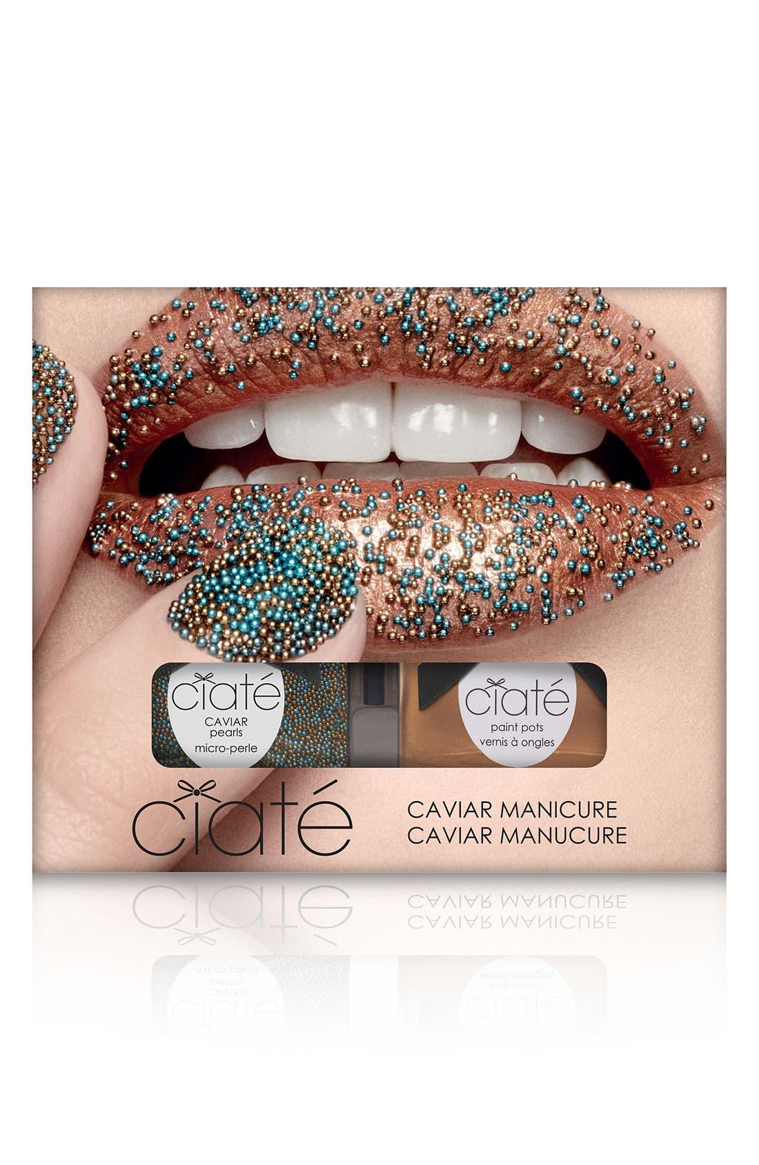 CIATÉ, 'Caviar Manicure<sup>™</sup> - Head Turner' Set, Main thumbnail 1, color, 220