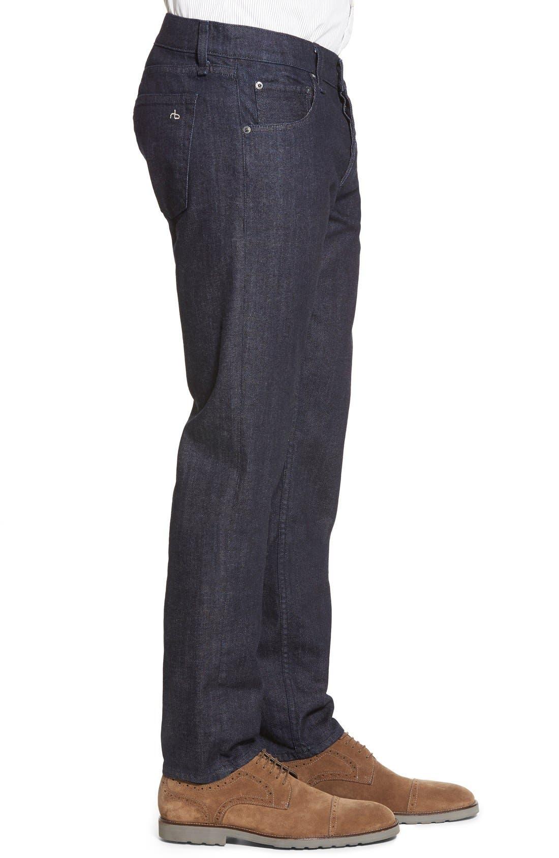 RAG & BONE, Standard Issue Fit 2 Slim Fit Jeans, Alternate thumbnail 6, color, TONAL RINSE