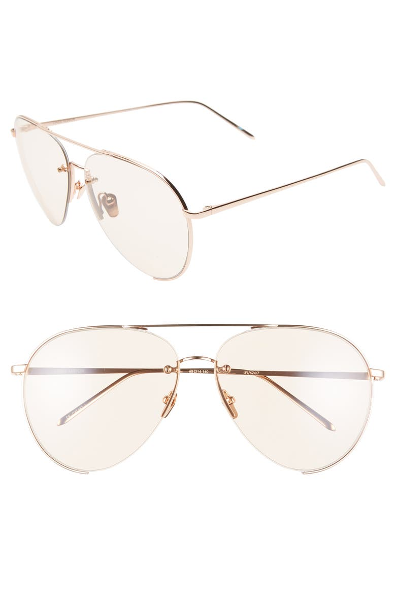 14ce91bc0bc Linda Farrow 65mm Oversize Aviator Sunglasses