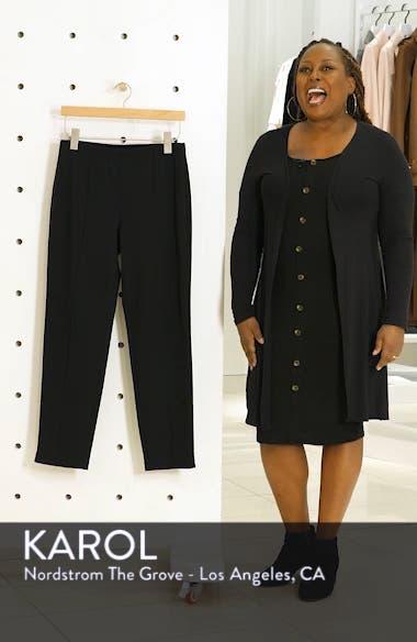 Ponte Knit Ankle Pants, sales video thumbnail