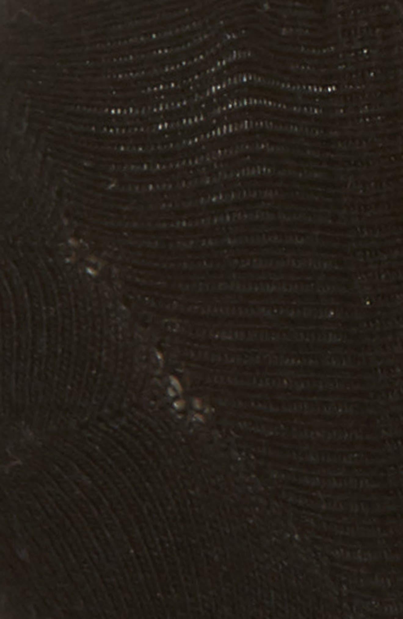 BOMBAS, No-Show Socks, Alternate thumbnail 2, color, BLACK