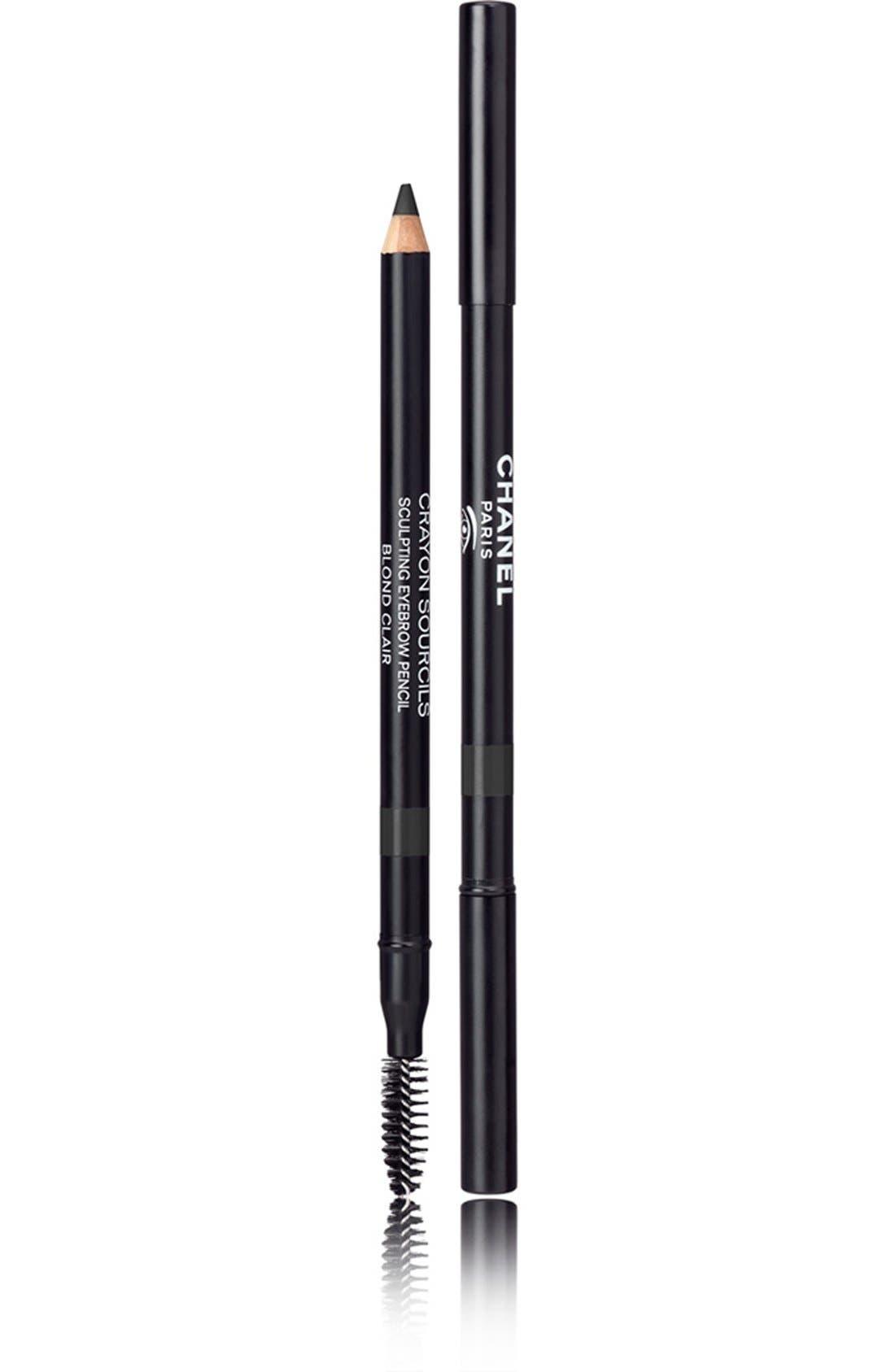 CHANEL, CRAYON SOURCILS<br />Sculpting Eyebrow Pencil, Main thumbnail 1, color, 60 NOIR CENDRE