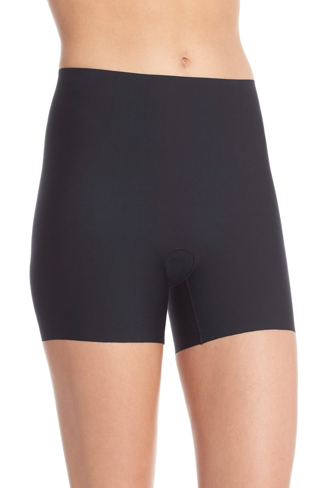 SPANX<SUP>®</SUP> Thinstincts Girl Shorts, Main, color, VERY BLACK